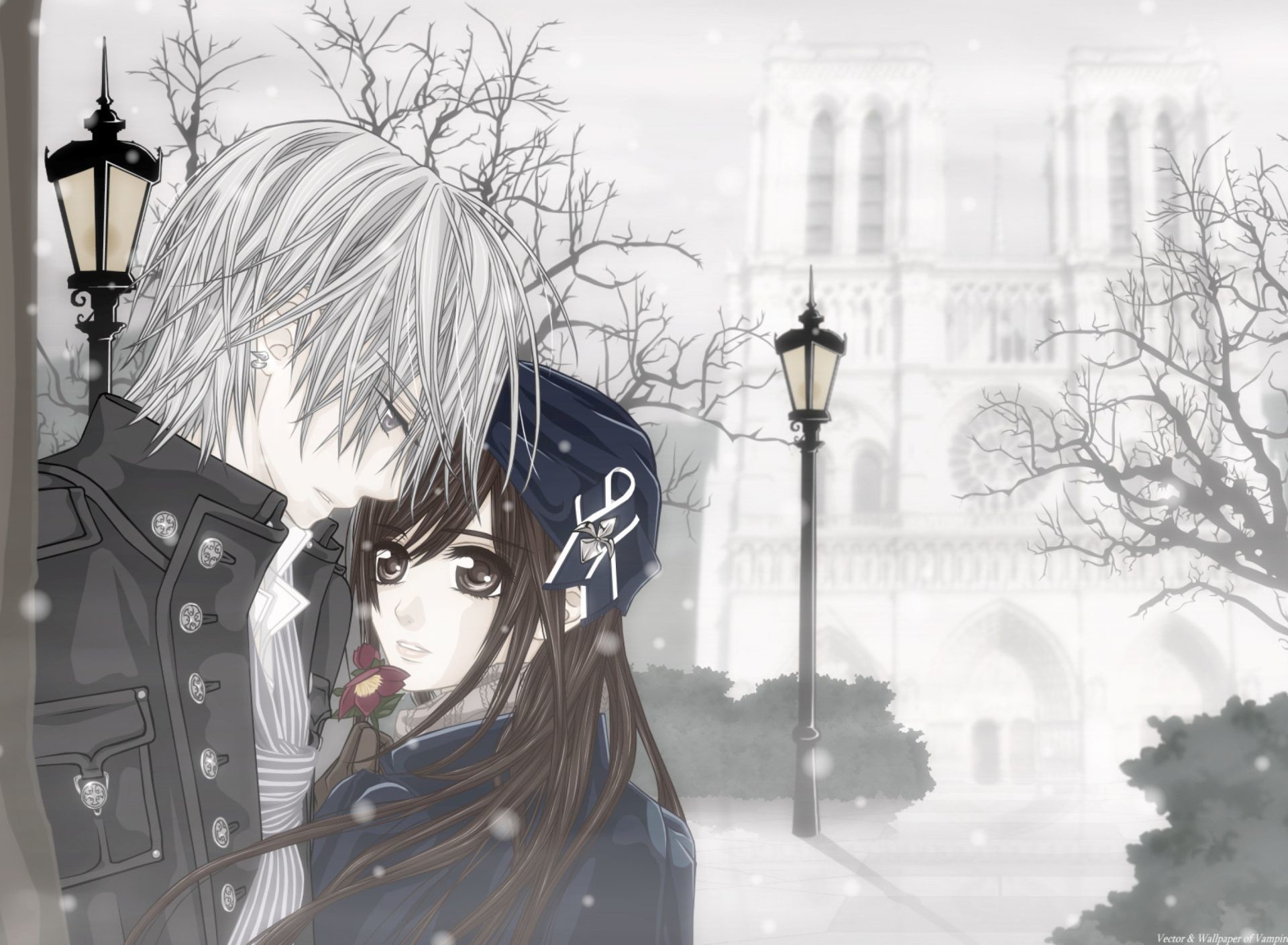 Res: 1920x1408, Beautiful Anime Couple Wallpaper HD Images – One HD Wallpaper .