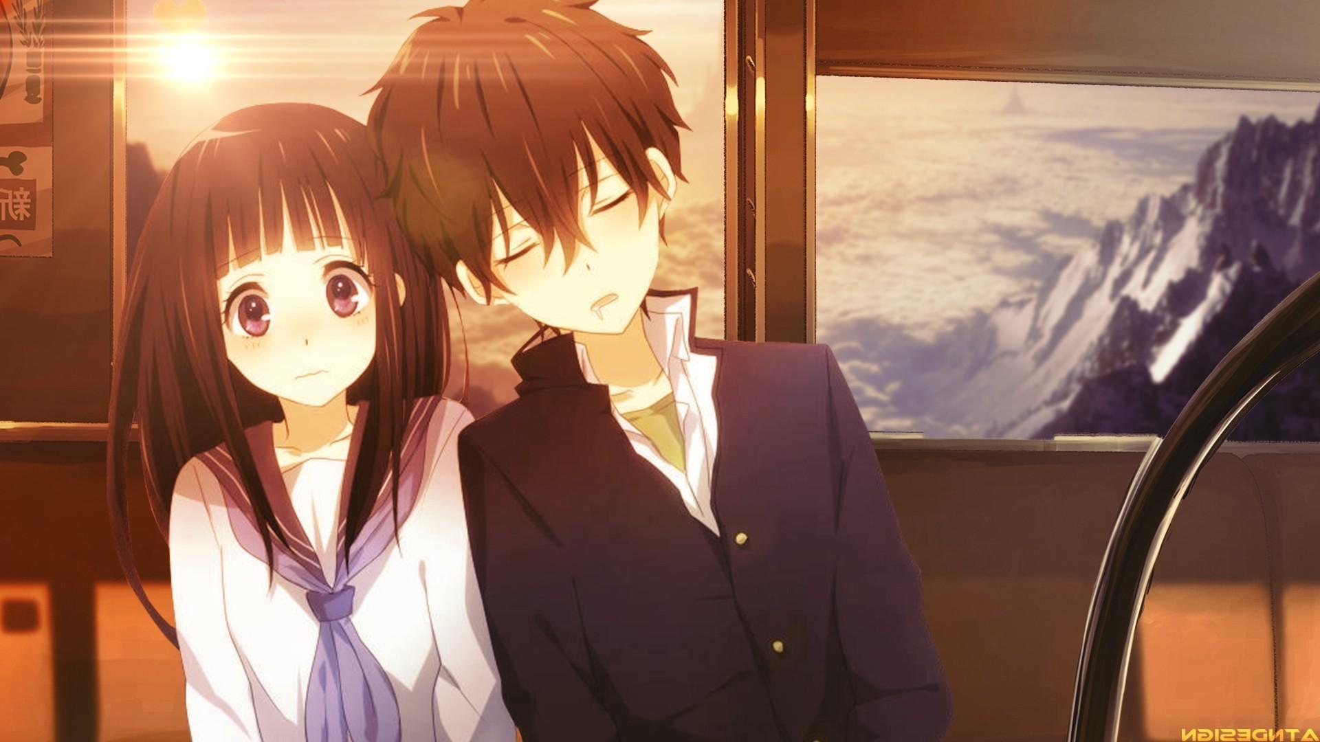 Res: 1920x1080, Cute Anime Couple Wallpaper Cute Anime Couple Wallpaper HD