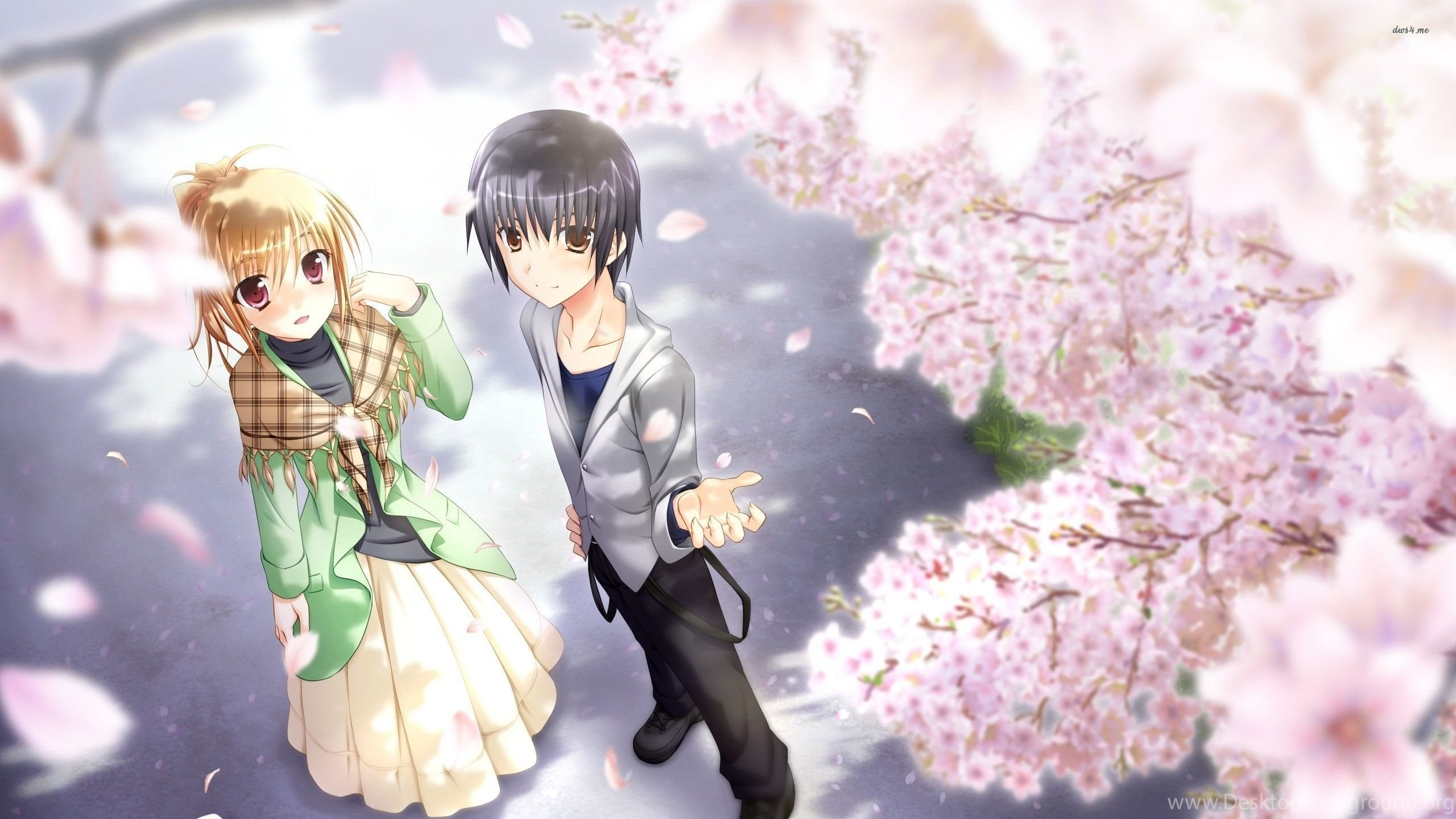 Res: 2560x1440, Anime Couples Wallpaper