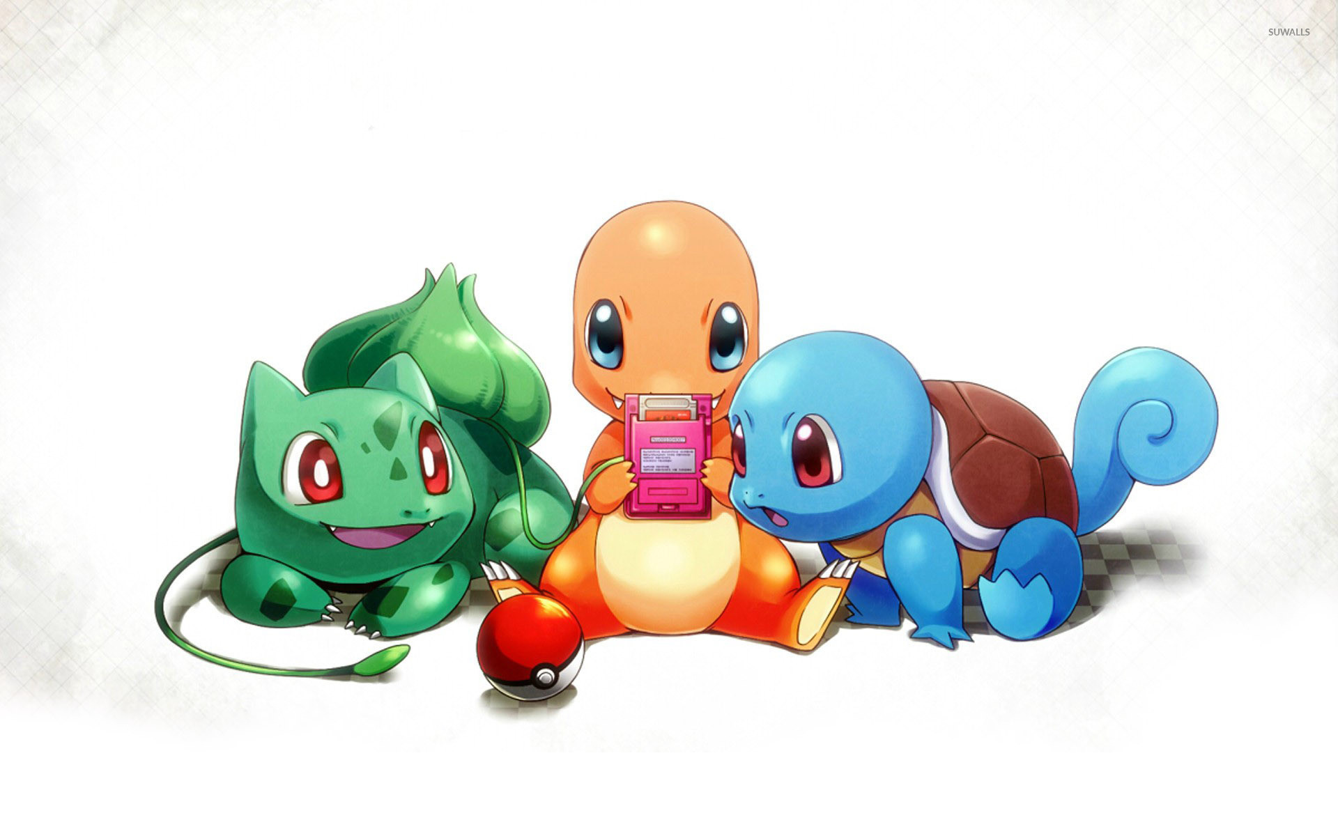 Res: 1920x1200, Charmander and Squirtle wallpaper