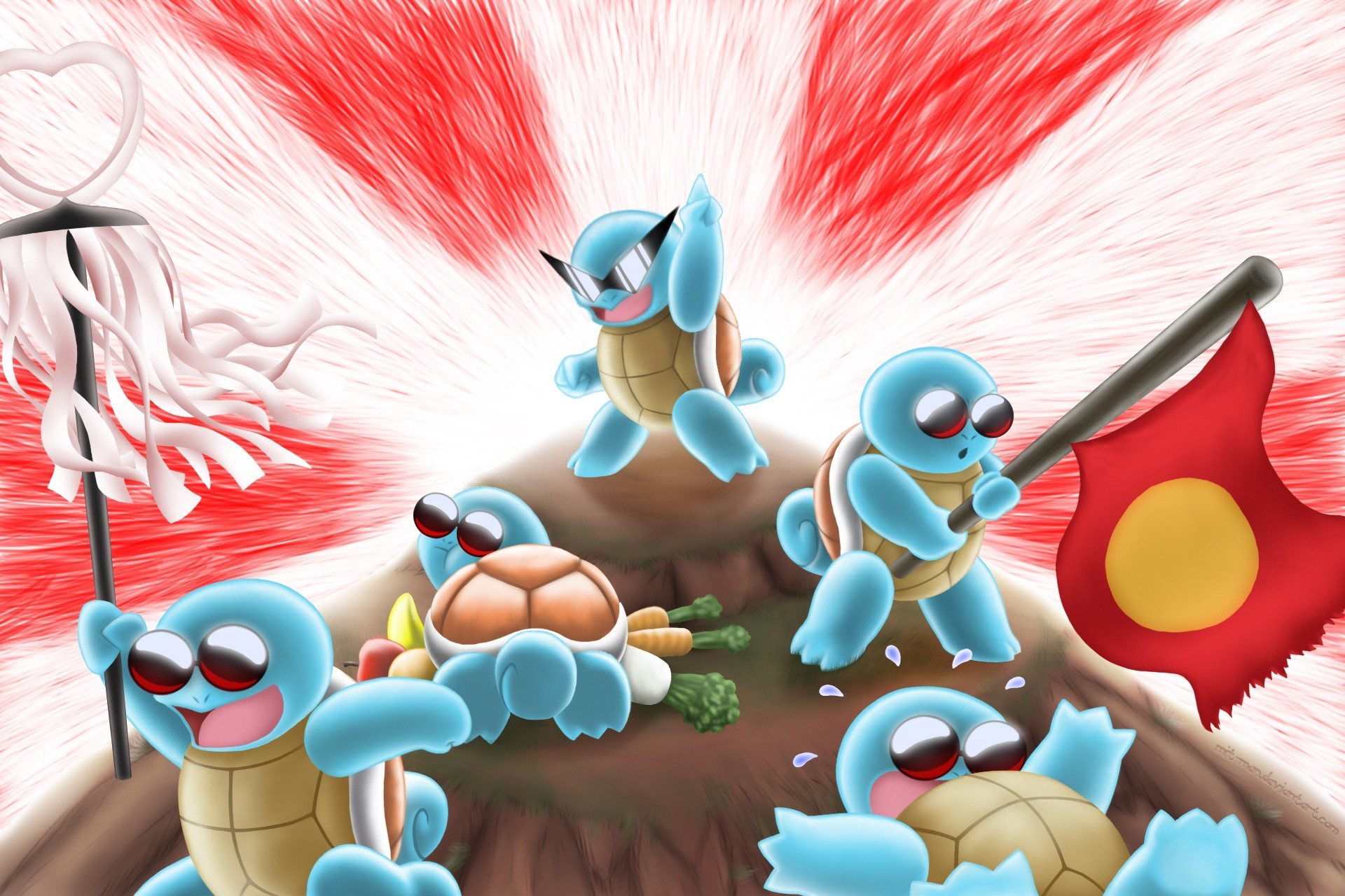 Res: 1920x1280, pokemon squirtle  wallpaper Art HD Wallpaper