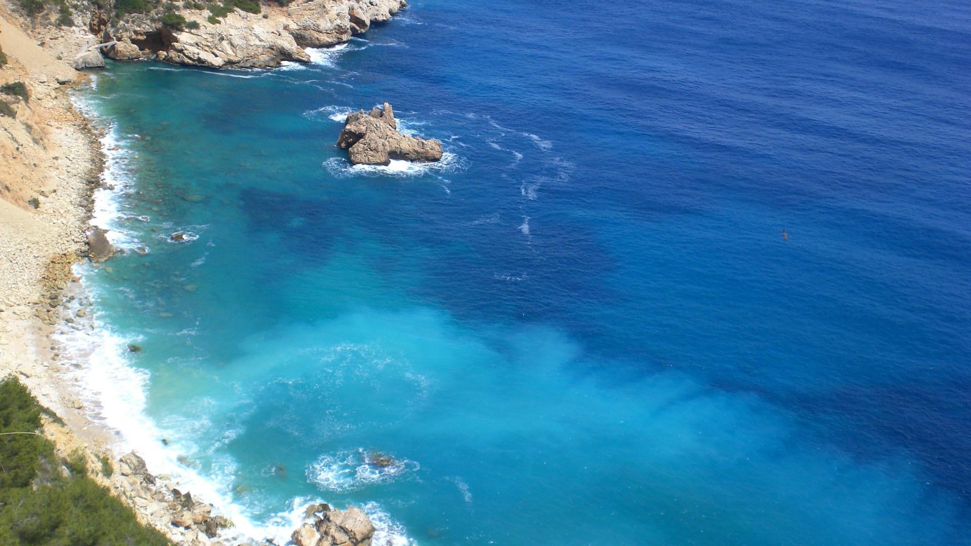 Res: 1920x1080, Mediterranean Sea HD Wallpaper. « »