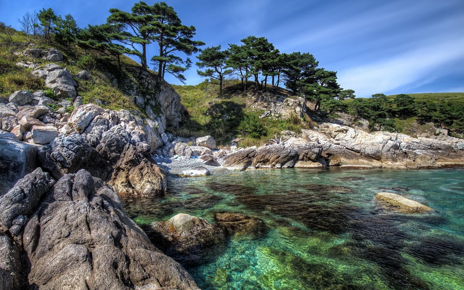 Res: 1920x1200, coast, Mediterranean Sea, Greece, shore, summer