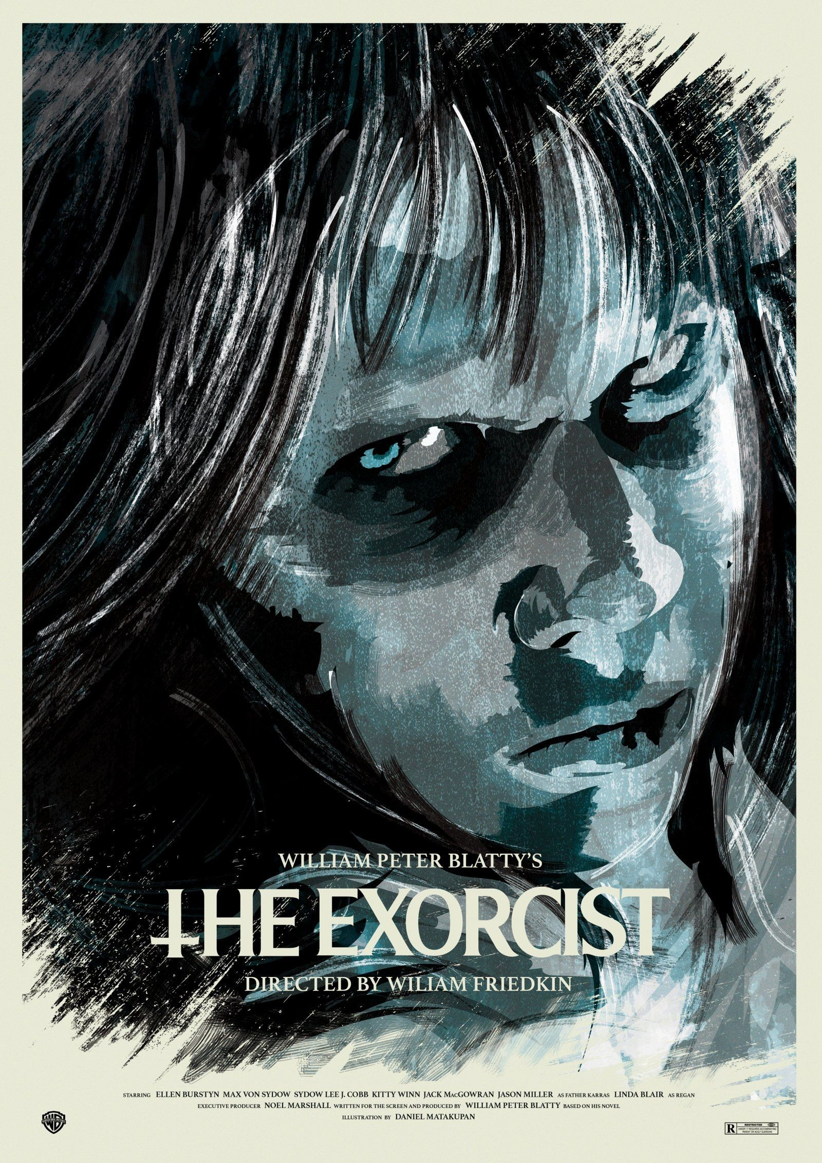 Res: 1600x2263, The Exorcist (1973) HD Wallpaper From Gallsource.com