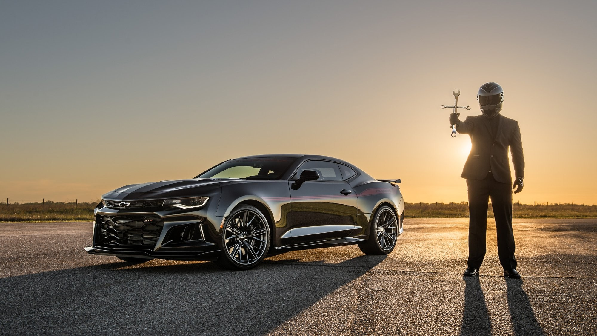 Res: 2000x1125, 2017 Chevrolet Camaro ZL1 The Exorcist by Hennessey Pictures, Photos,  Wallpapers.