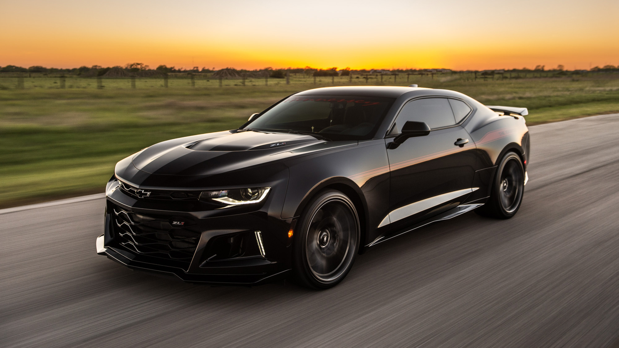 Res: 2000x1125, Hennessey Chevrolet Camaro ZL1 HPE1000 The Exorcist