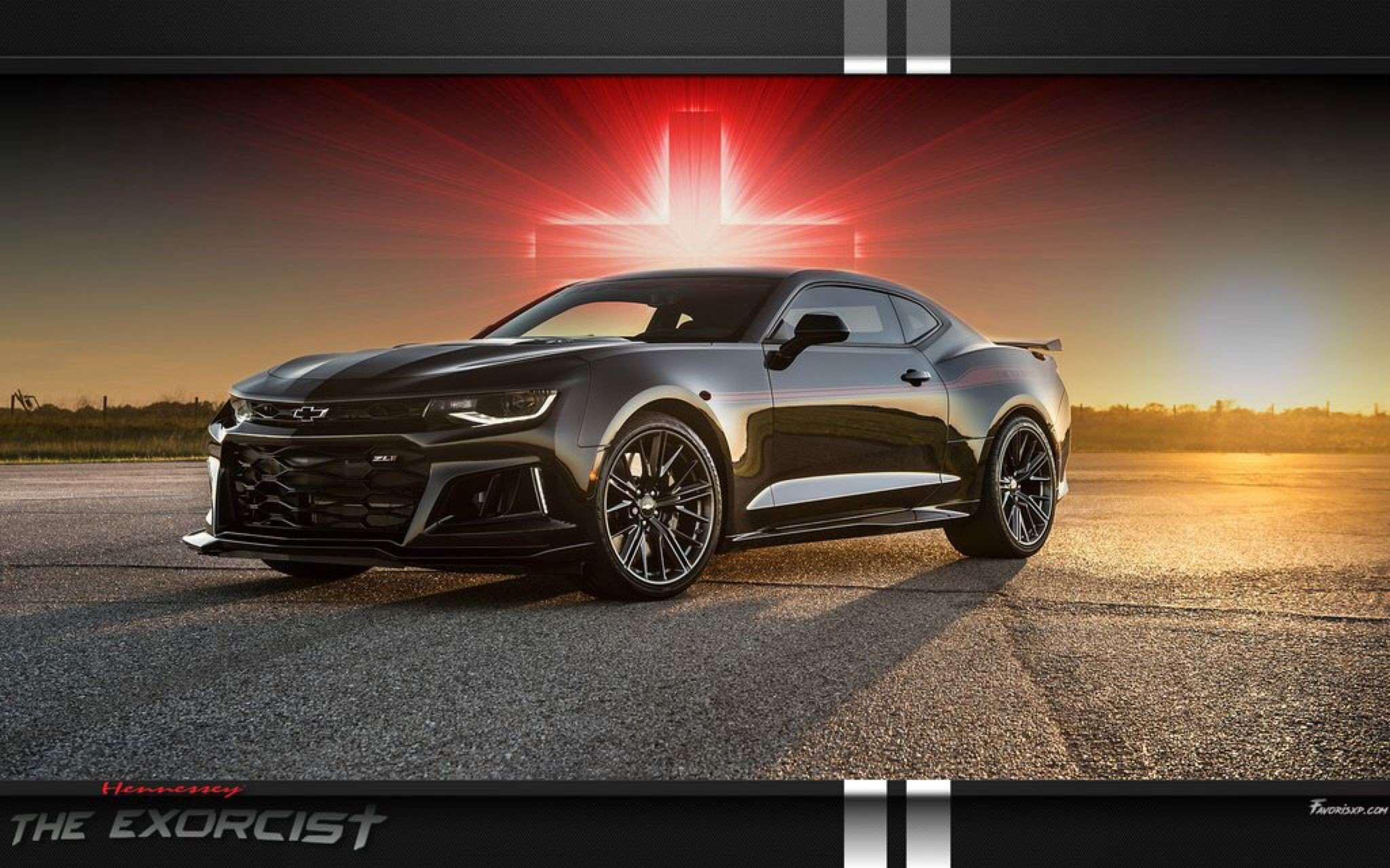 Res: 2048x1280, The Exorcist Hennessey Camaro zl1 wallpaper by favorisxp on @DeviantArt