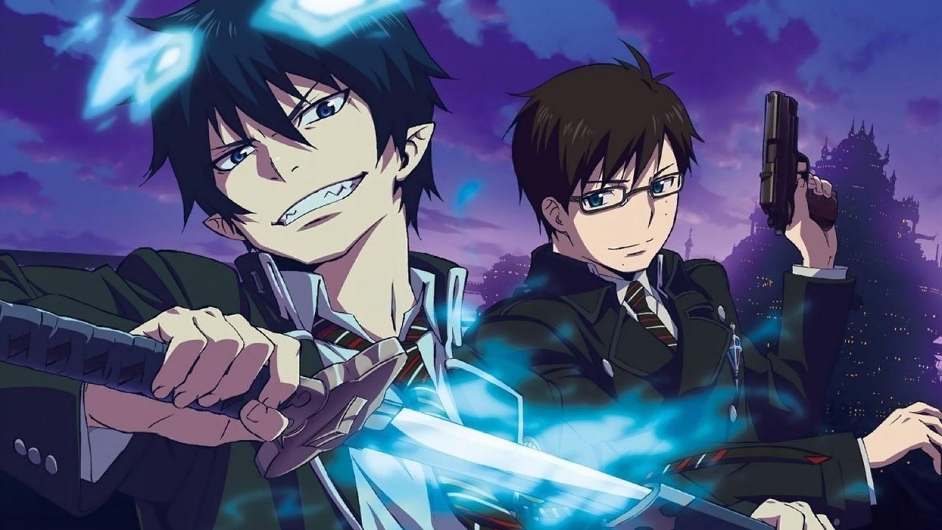 Res: 1920x1080, Anime Blue Exorcist Wallpaper HD 7 hd background hd screensavers hd