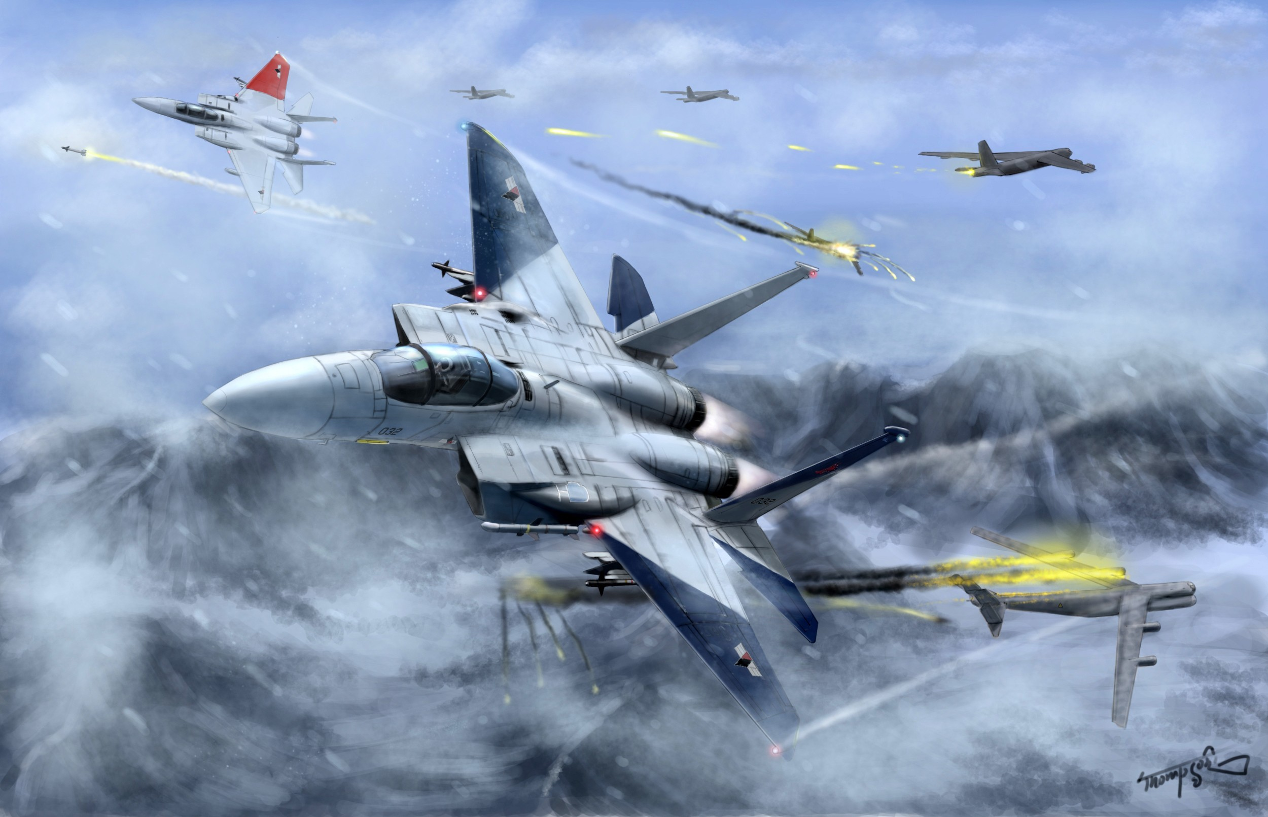 Res: 2500x1611, Ace Combat HD Wallpaper | Background Image |  | ID:174355 -  Wallpaper Abyss