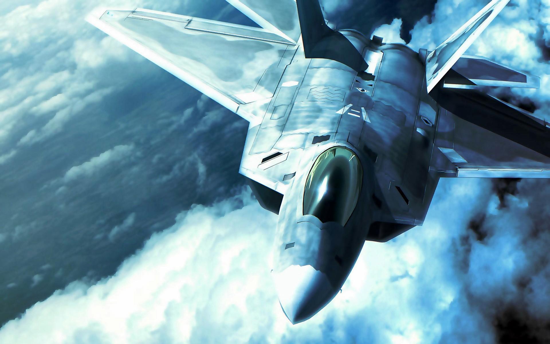 Res: 1920x1200, F 22 Raptor in Ace Combat