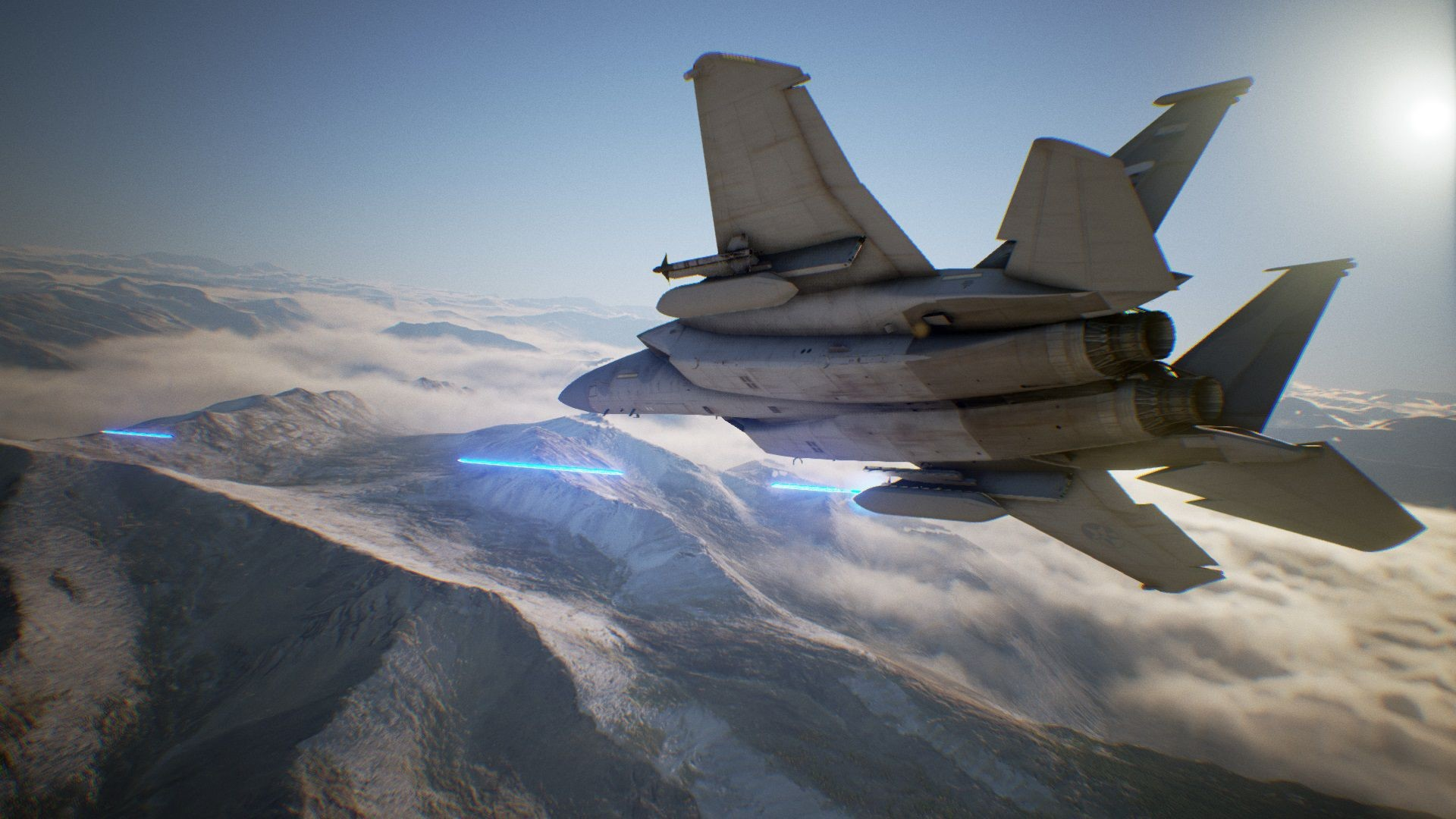 Res: 1920x1080, ... Ace Combat 7 Skies Unknown Background ...
