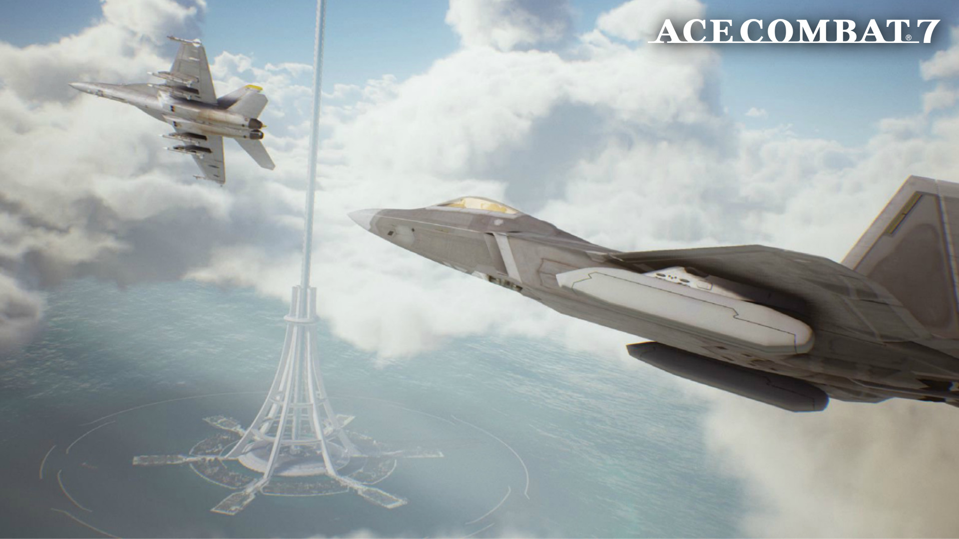 Res: 1920x1080, ... Ace Combat 7 - Lighthouse Wallpaper by Azekthi