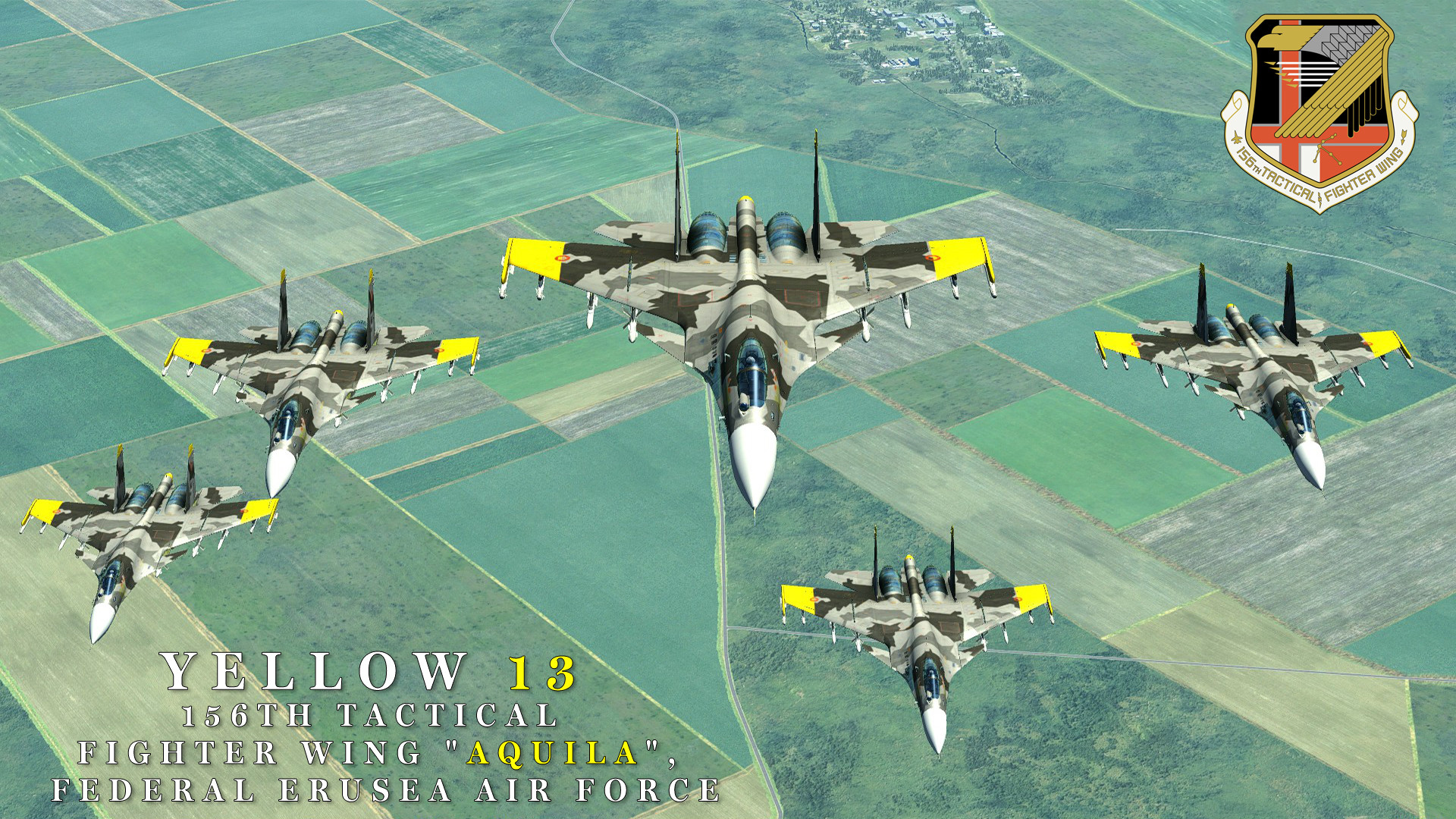 Res: 1920x1080, ... Yellow Squadron Wallpaper / Ace Combat by BillyM12345