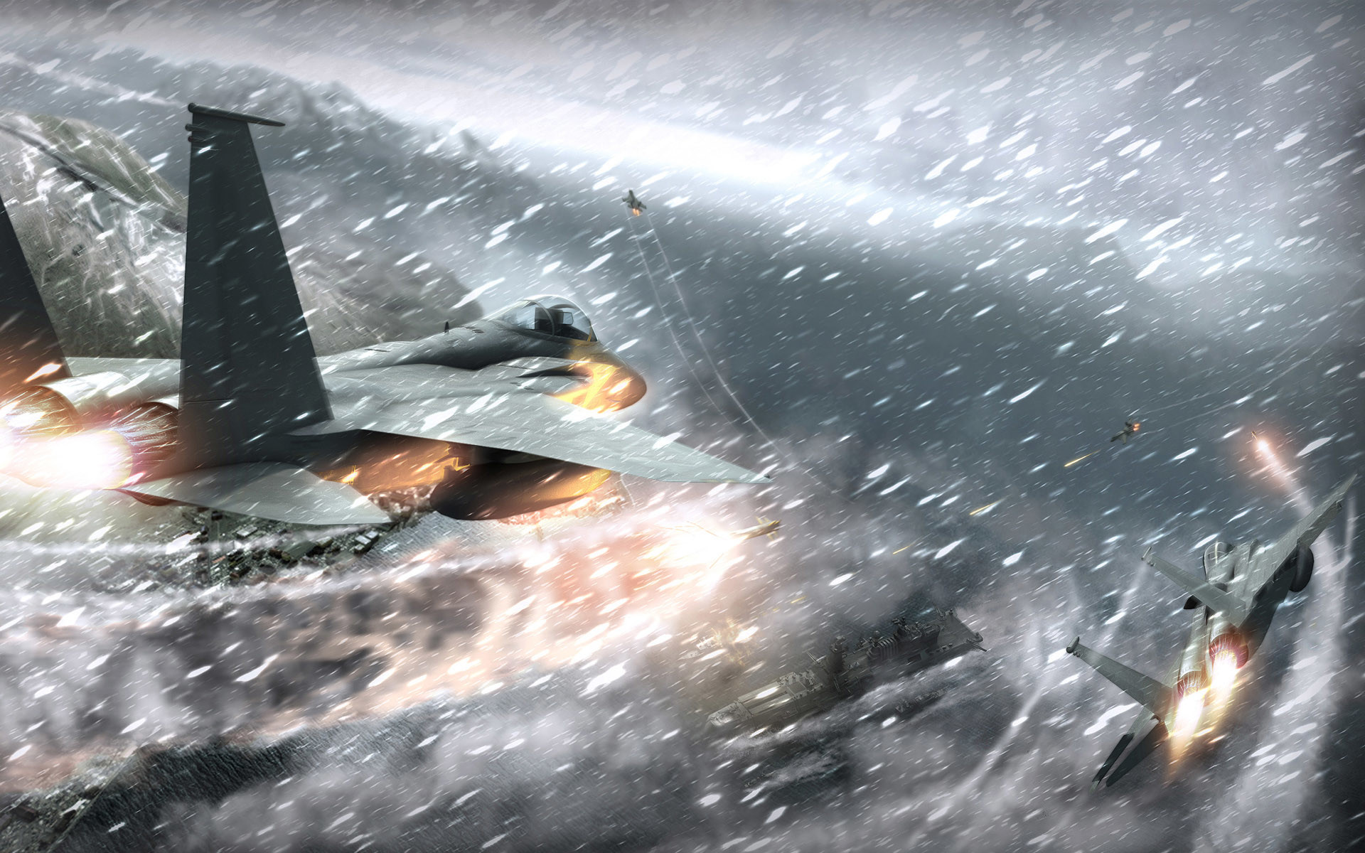 Res: 1920x1200, ACE COMBAT game jet airplane aircraft fighter plane military battle weapon  missile d wallpaper |  | 225426 | WallpaperUP