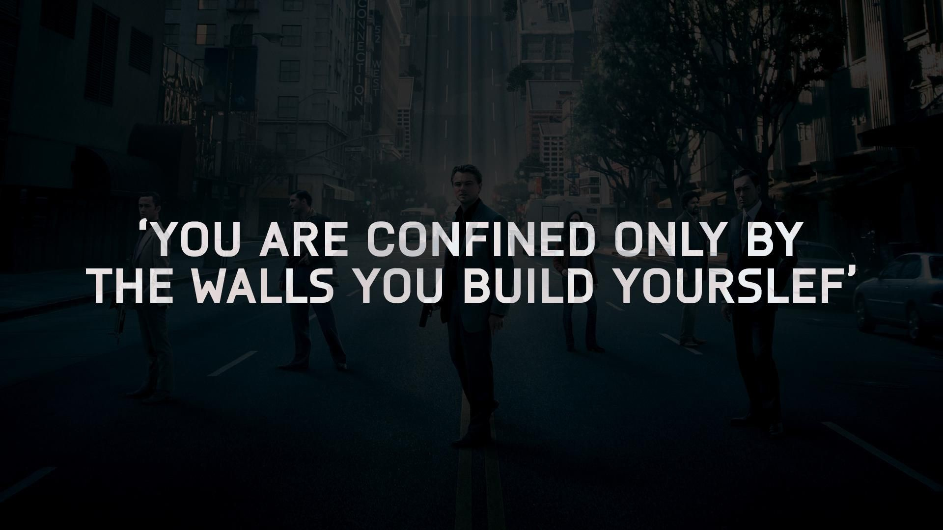 Res: 1920x1080, Inception wallpaper with quote