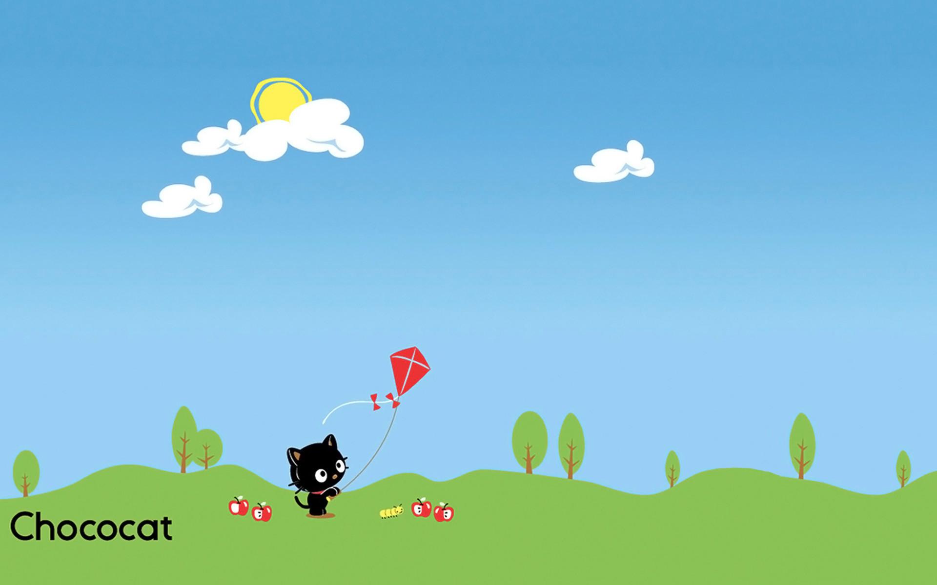 Res: 1920x1200, chococat kite small 1920×1200
