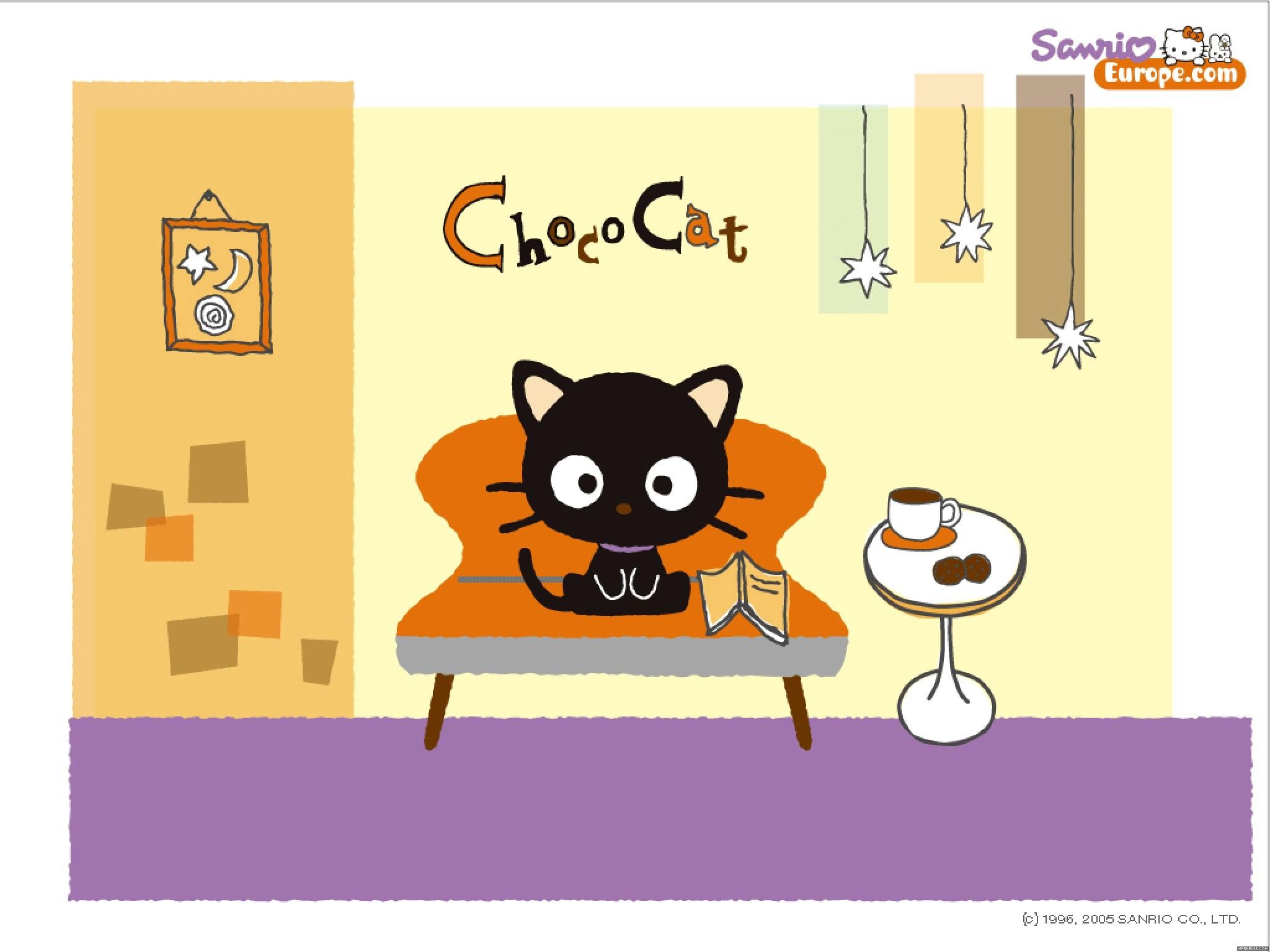 Res: 2048x1536, Choco-Cat