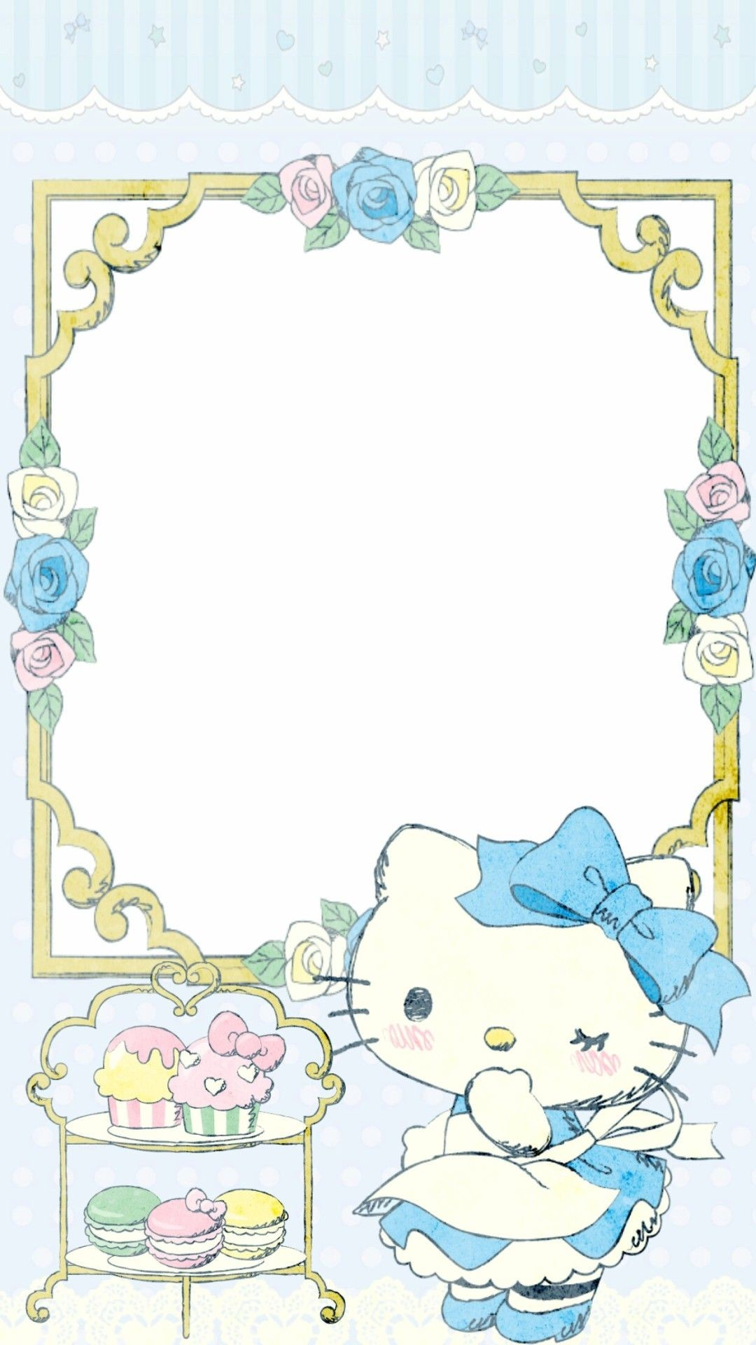 Res: 1080x1920, Hello kitty in wonderland Sanrio Wallpaper, Kawaii Wallpaper, Hello Kitty  Wallpaper, Hello Kitty