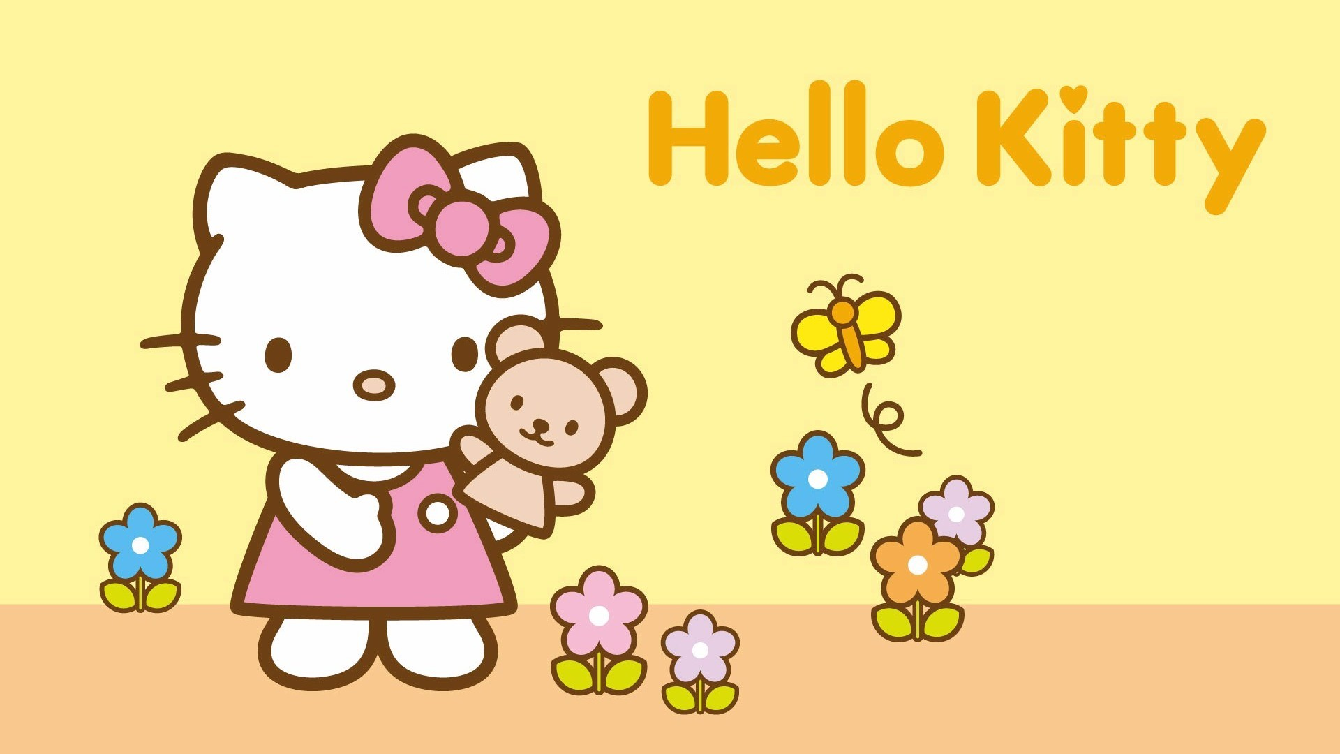 Res: 1920x1080, hello kitty, boutique, accessoires, wallpaper