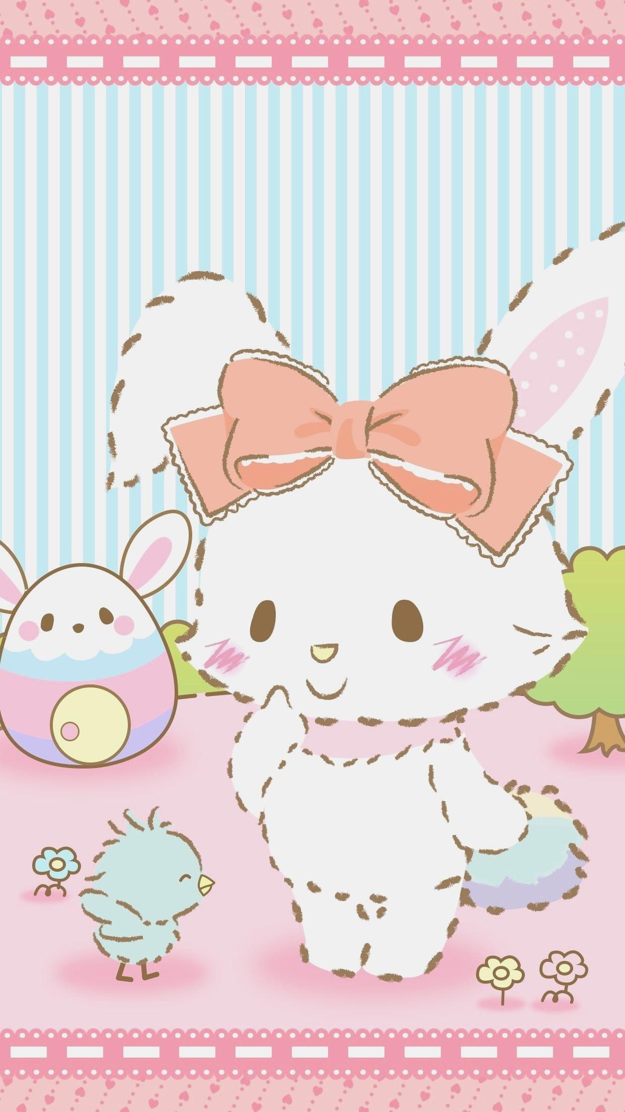 Res: 1242x2208, Easter Wallpaper Sanrio Wallpaper I Wallpaper Easter Sanrio Characters  Iphone