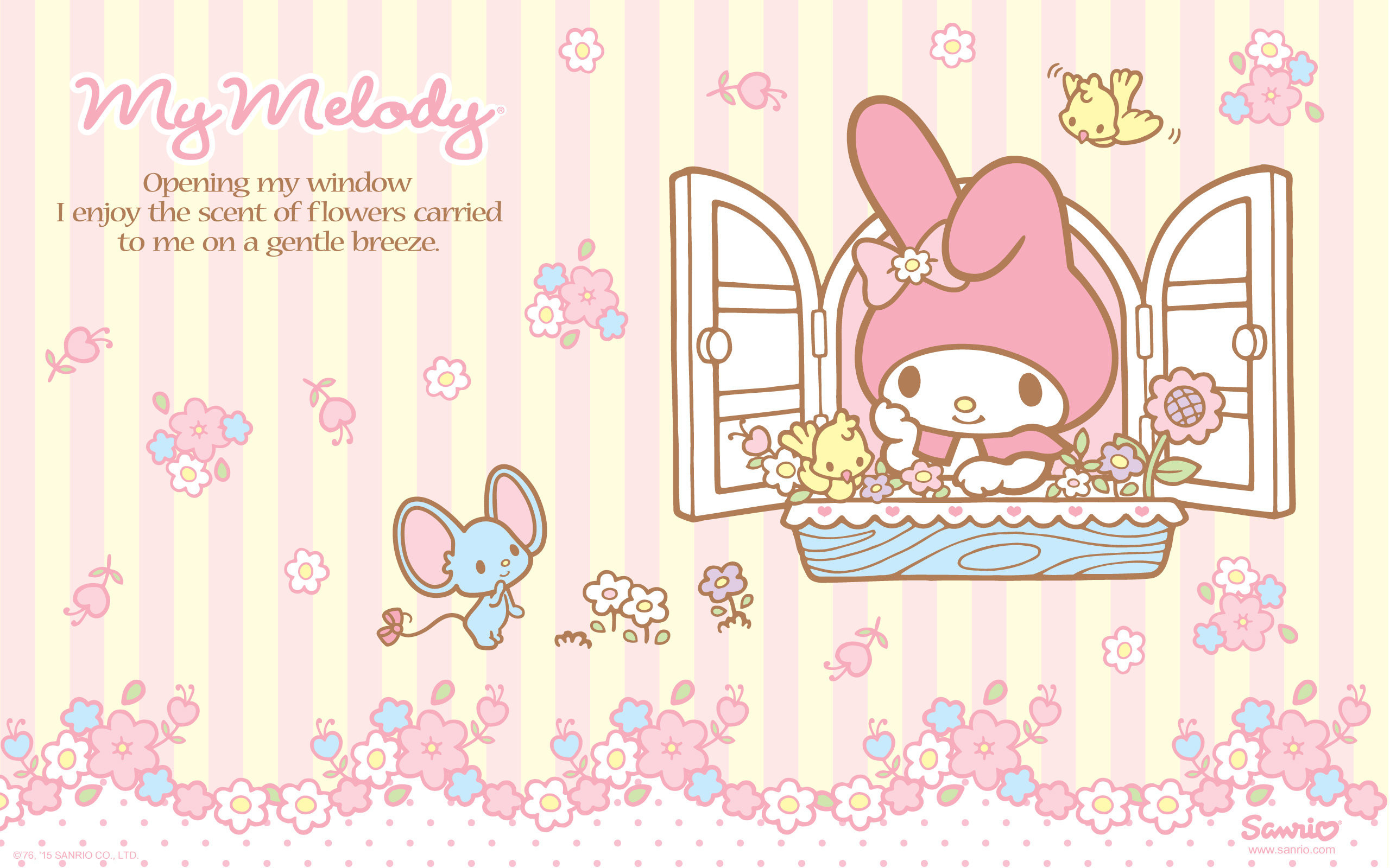 Res: 2560x1600, My Melody Wallpaper