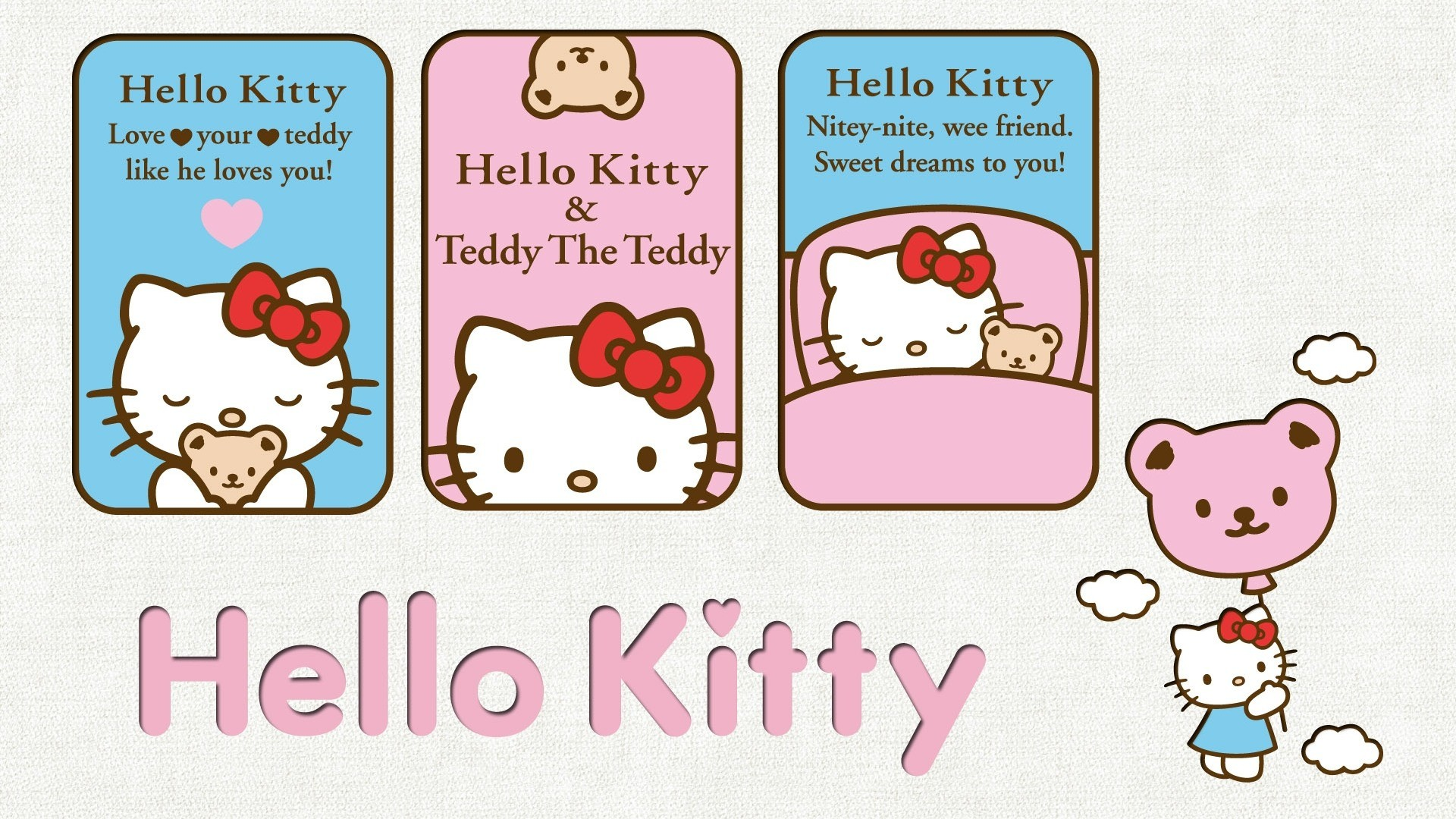 Res: 1920x1080, wallpaper, hello kitty, picture, image, photo