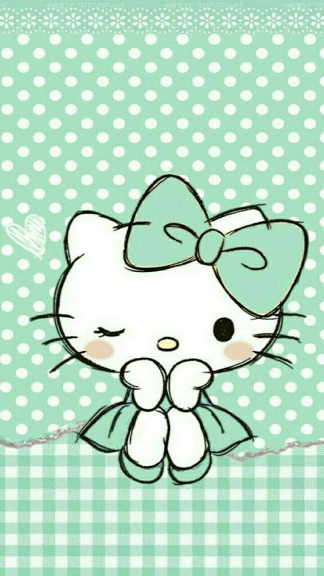 Res: 1080x1920, ... Hello Kitty Wallpaper For Android - Best Android Wallpapers Images  Hello Kitty, Hello Kitty Art ...