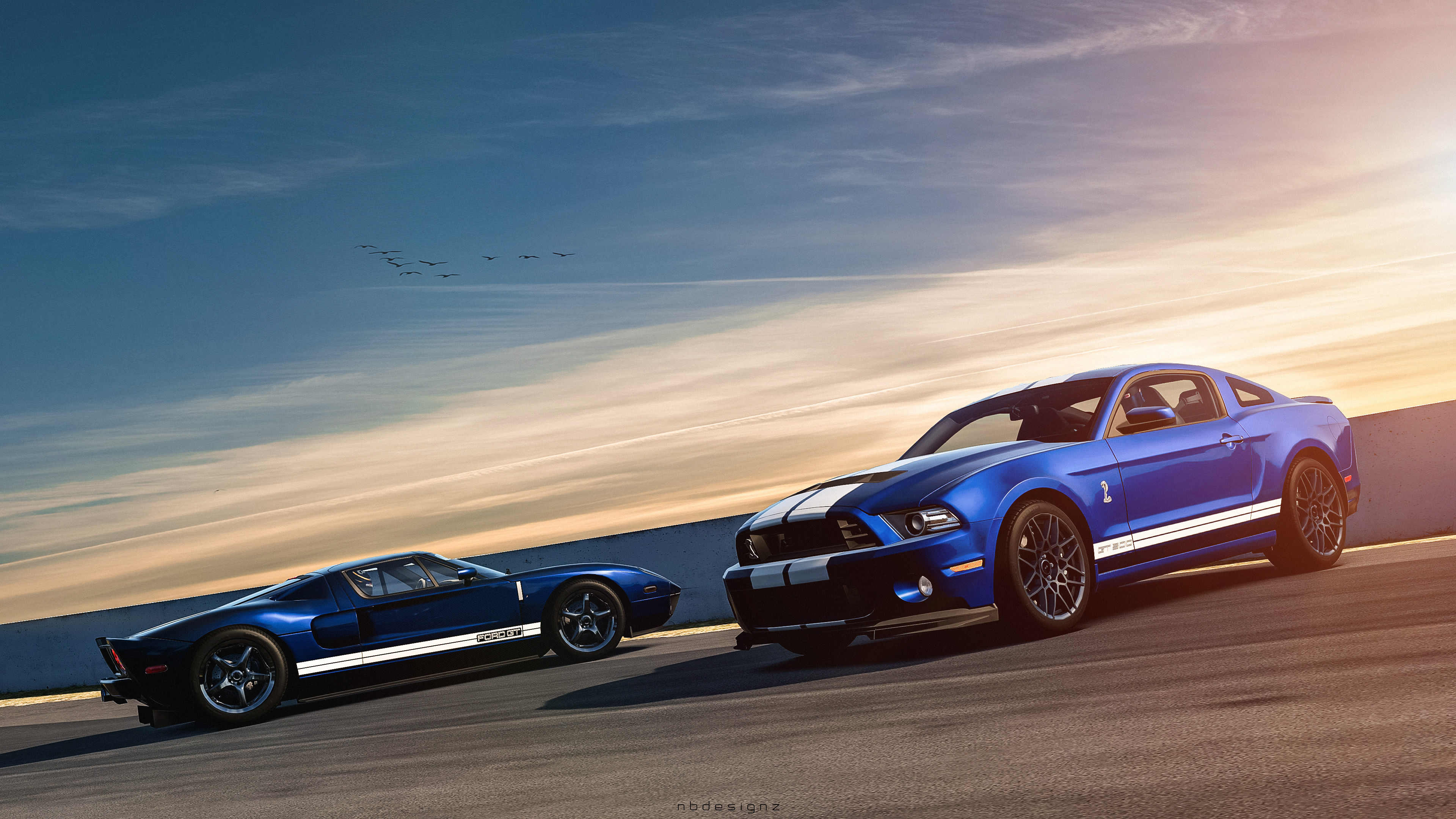 Res: 3840x2160, Tags: Ford Shelby GT500 Mustang