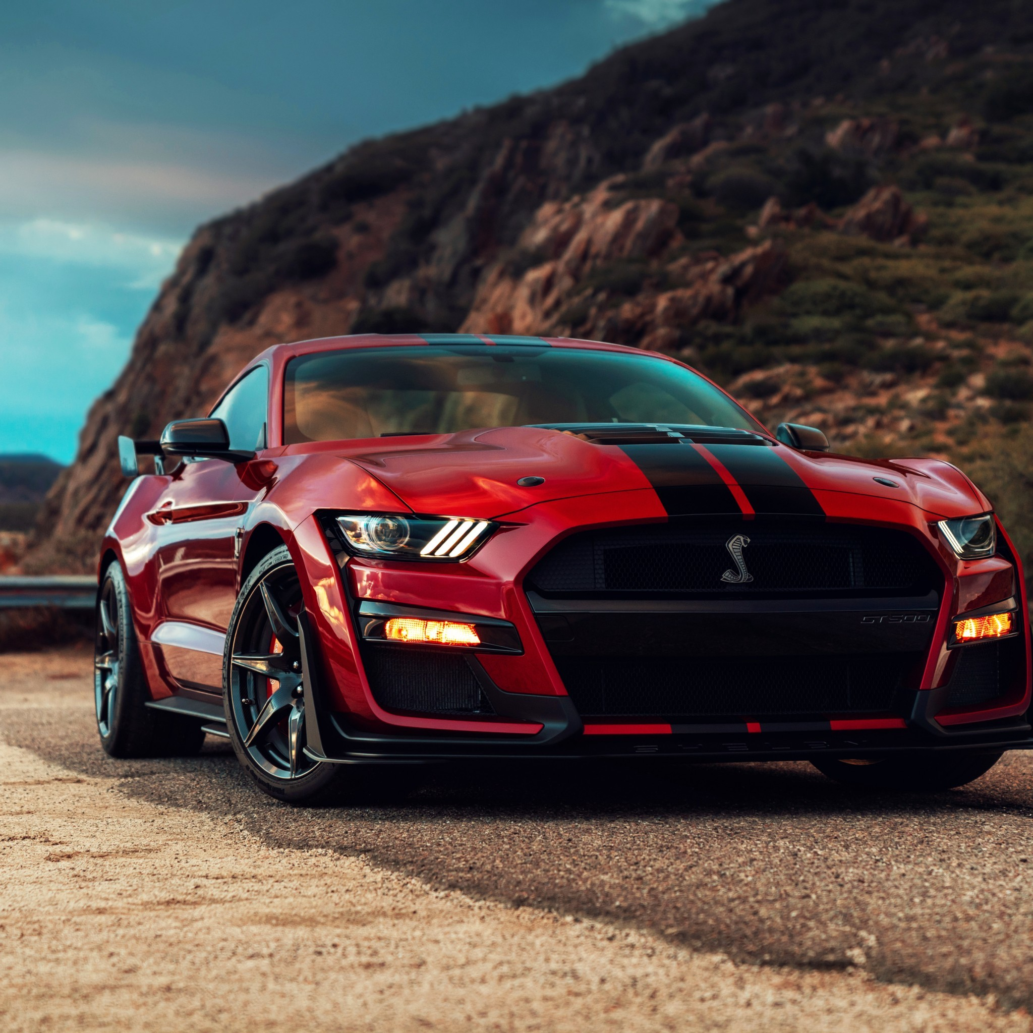 Res: 2048x2048, Ford Mustang Shelby GT500 Wallpaper