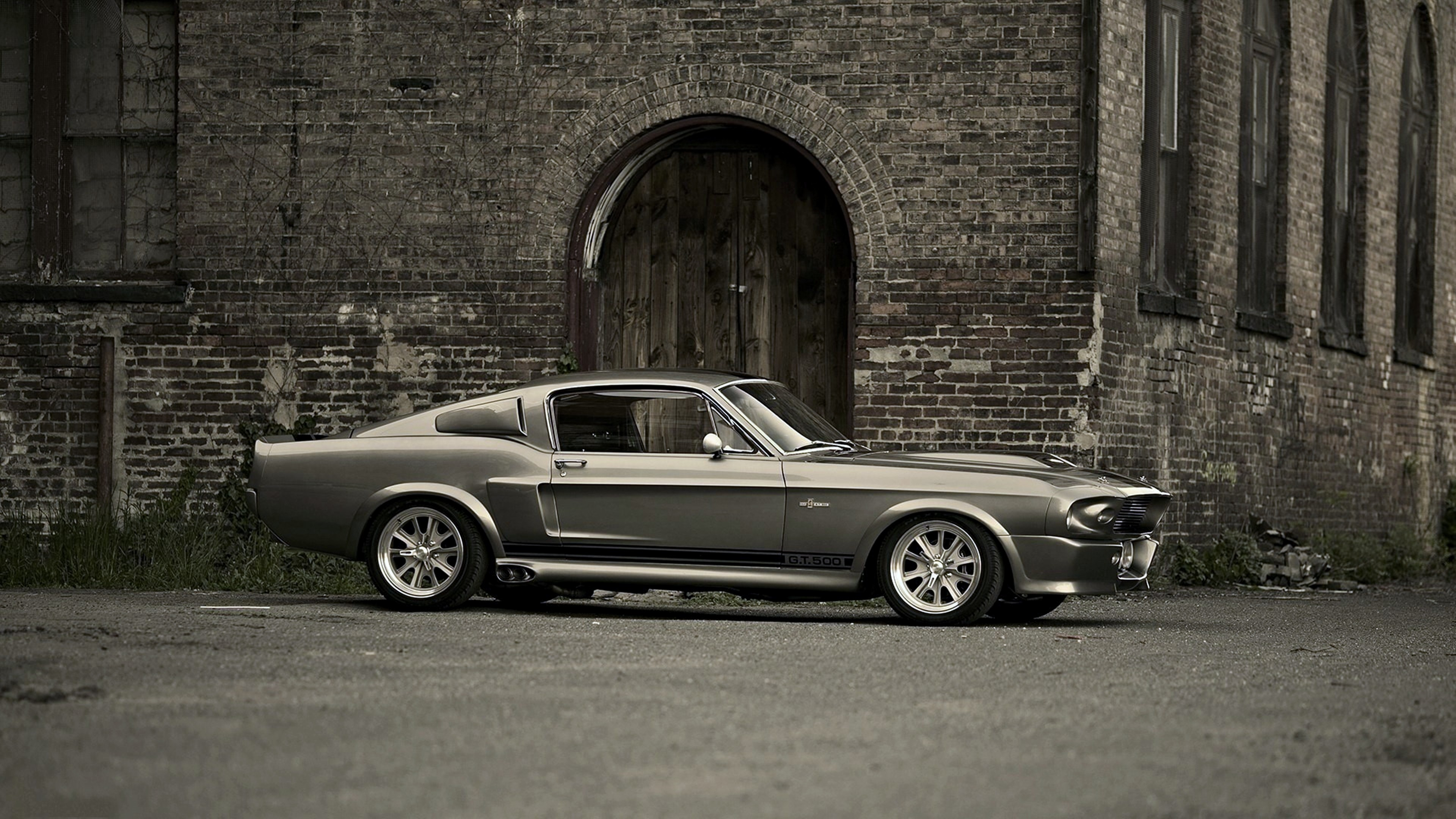 Res: 3840x2160, #Ford Mustang, #Ford Shelby GT500 wallpaper