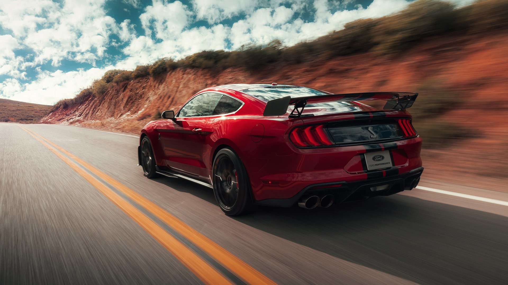 Res: 1920x1080, Back to 46+ 2020 Ford Mustang Shelby Gt500 Wallpapers