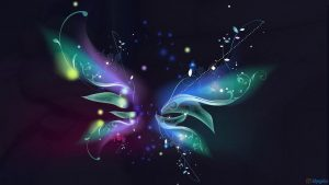 Abstract Butterfly wallpapers