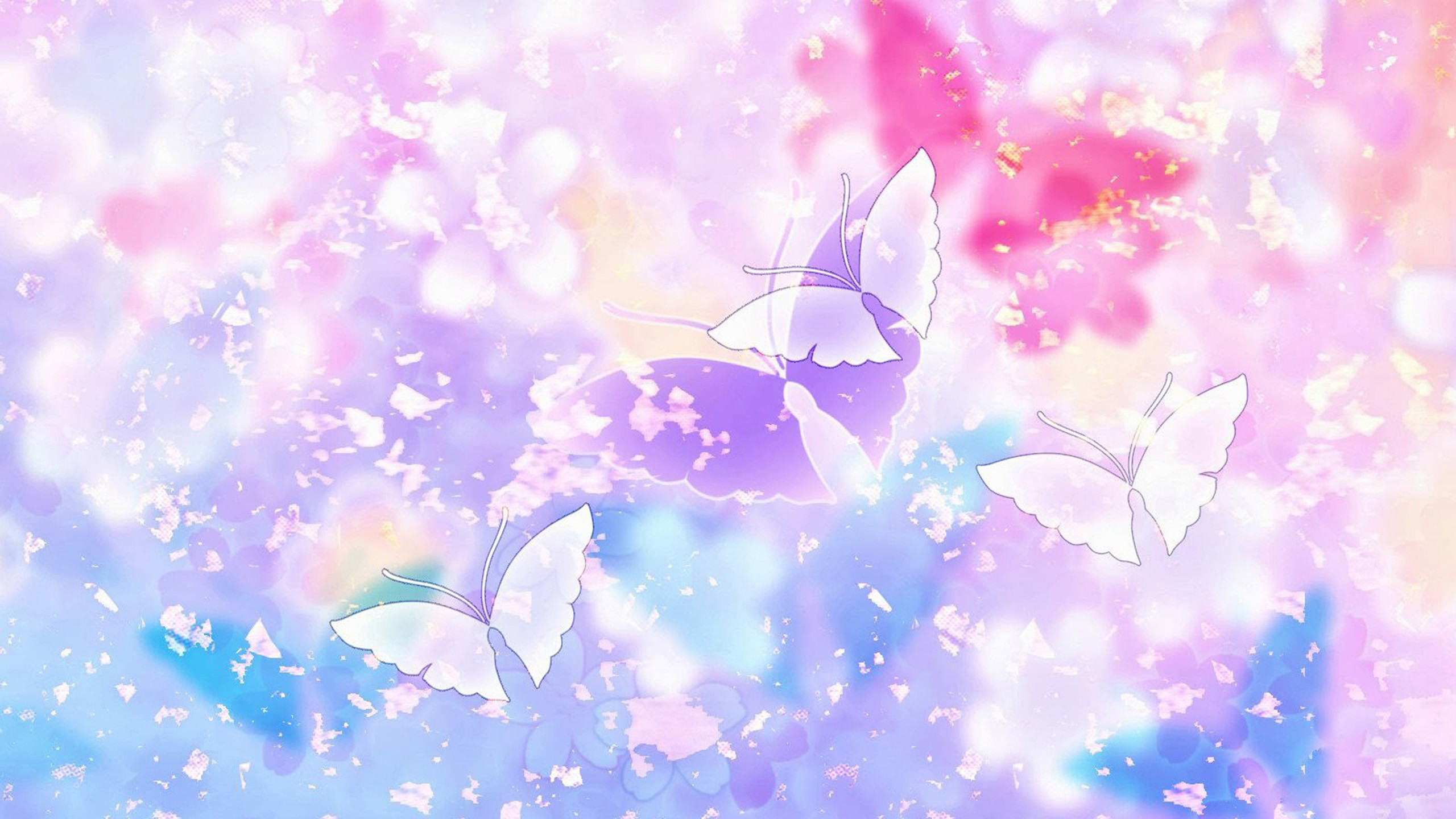 Res: 2560x1440,  Abstract butterfly Wallpapers HD, HD Desktop Wallpapers