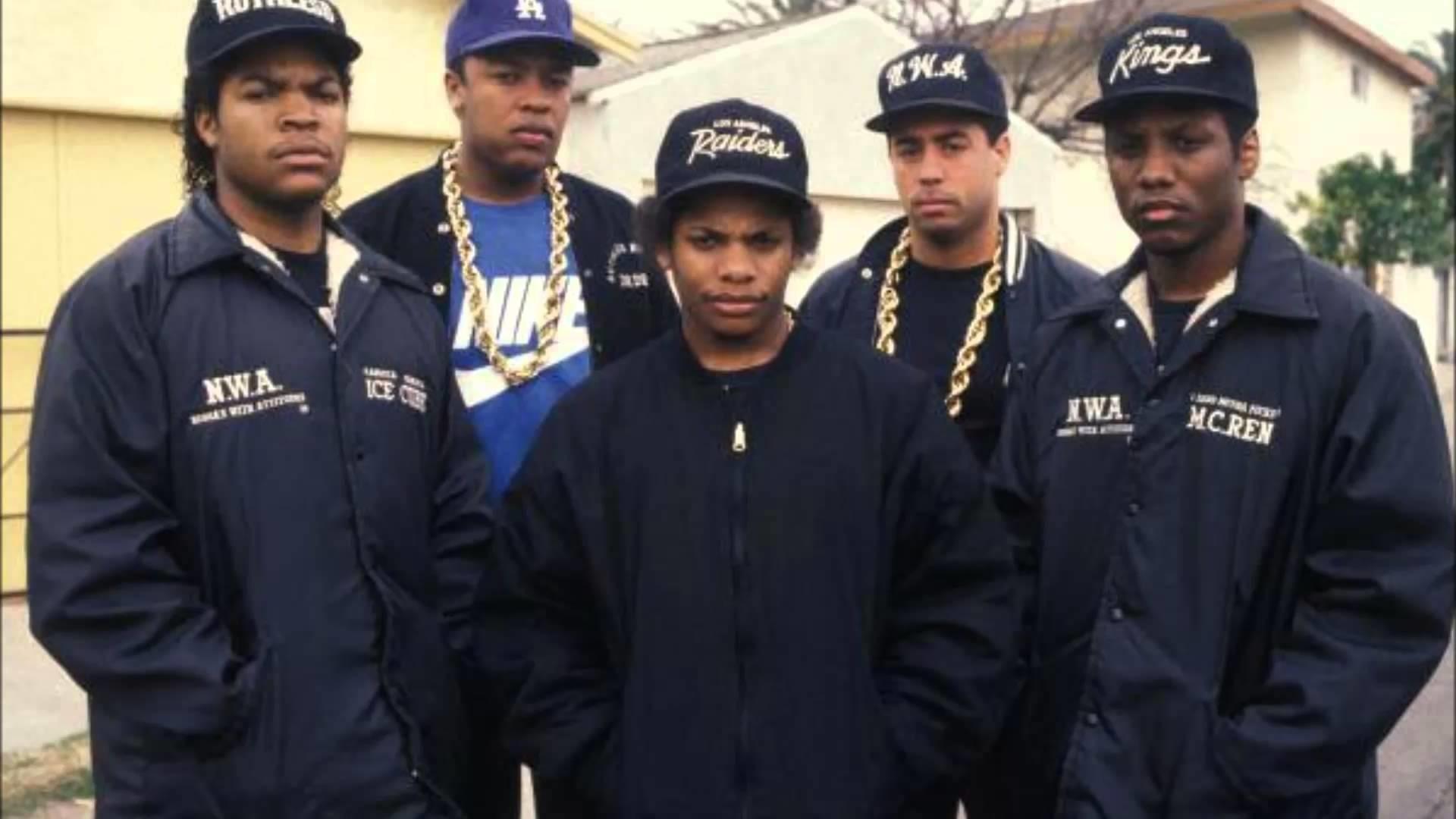 Res: 1920x1080, N.W.A records 'F--- Tha Police' in Straight Outta Compton clip