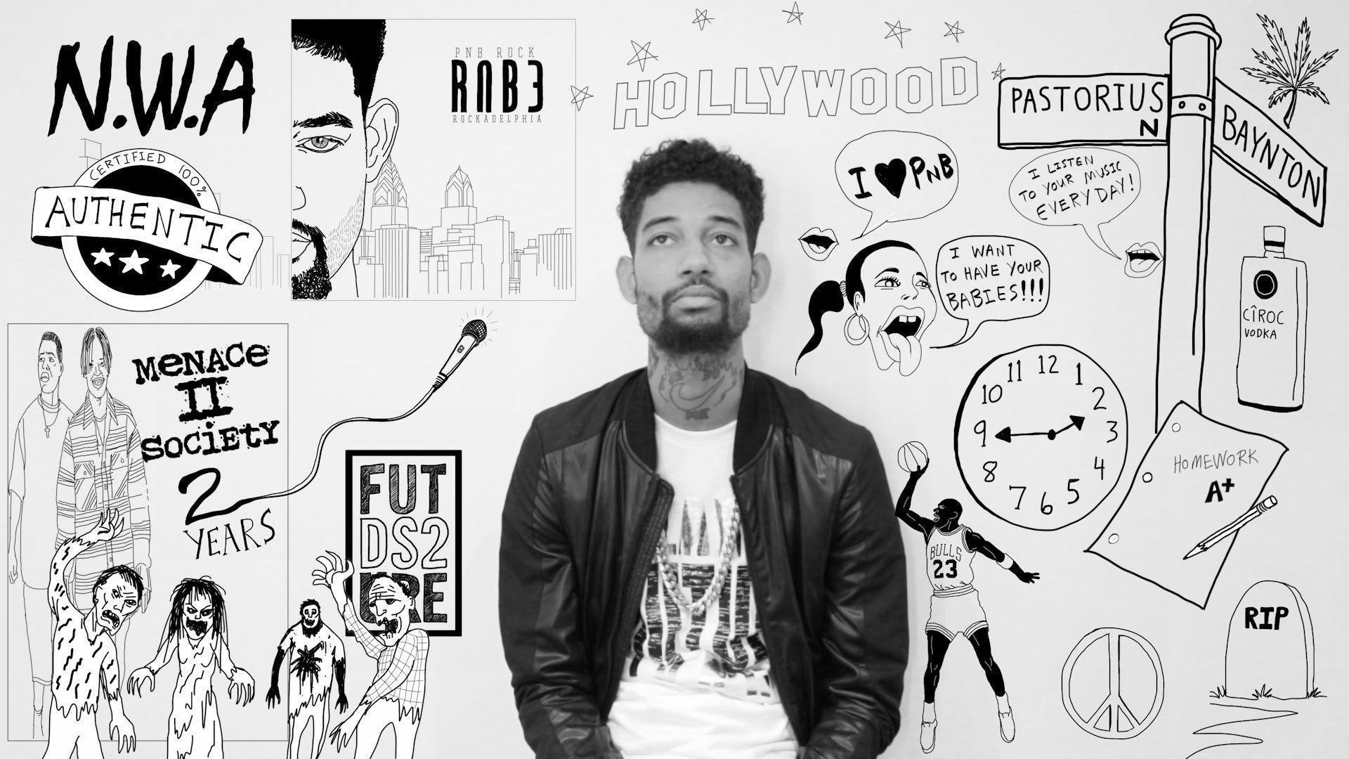 Res: 1920x1080, Ask Atlantic: Q&A with PnB Rock - YouTube