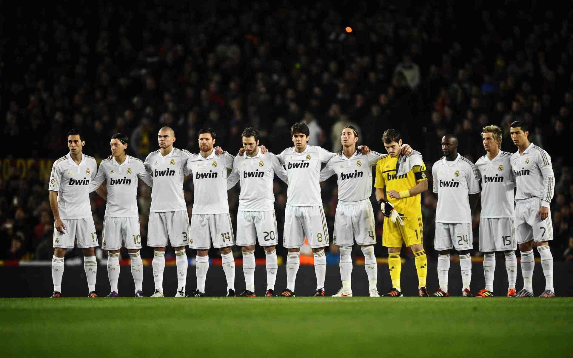 Res: 1920x1200, Real Madrid Team HD Wallpaper #9895 Wallpaper