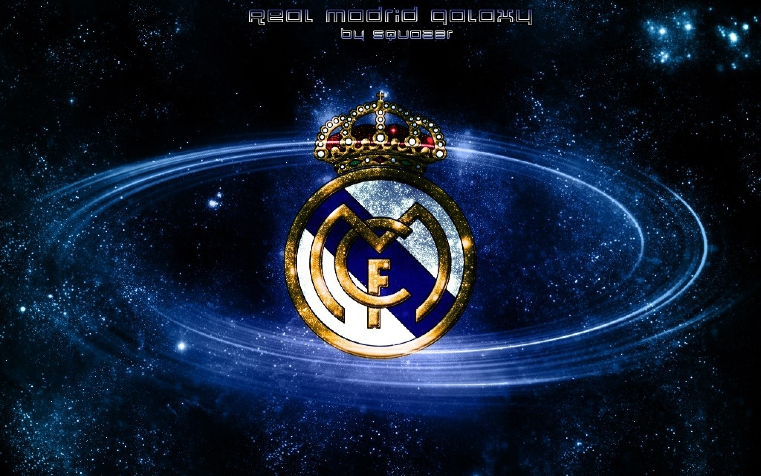 Res: 2560x1600, Sport - Real Madrid C.F. Real Madrid Logo Wallpaper