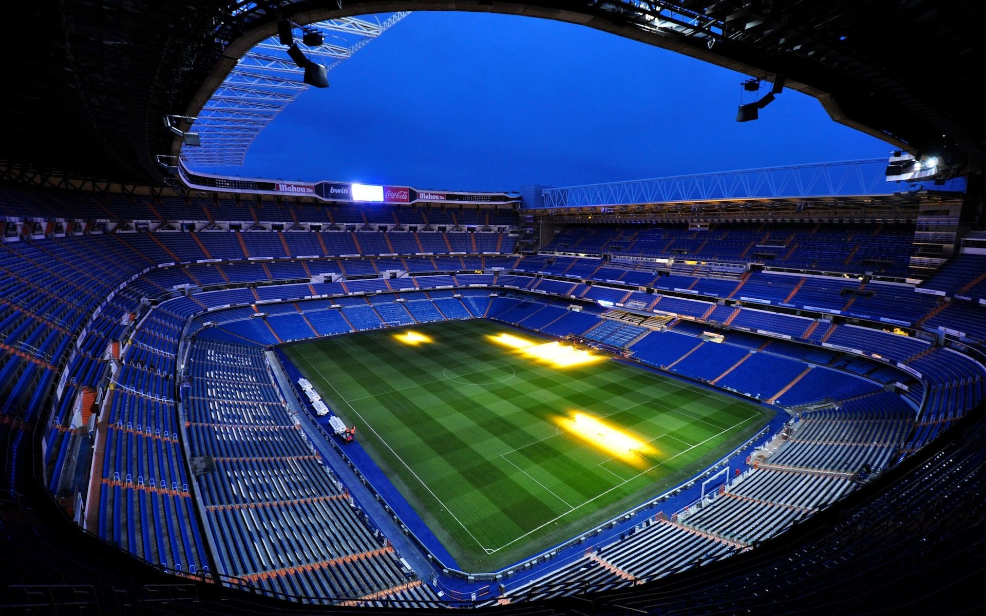 Res: 1920x1200, Santiago Bernabeu Real Madrid Stadium HD Wallpaper