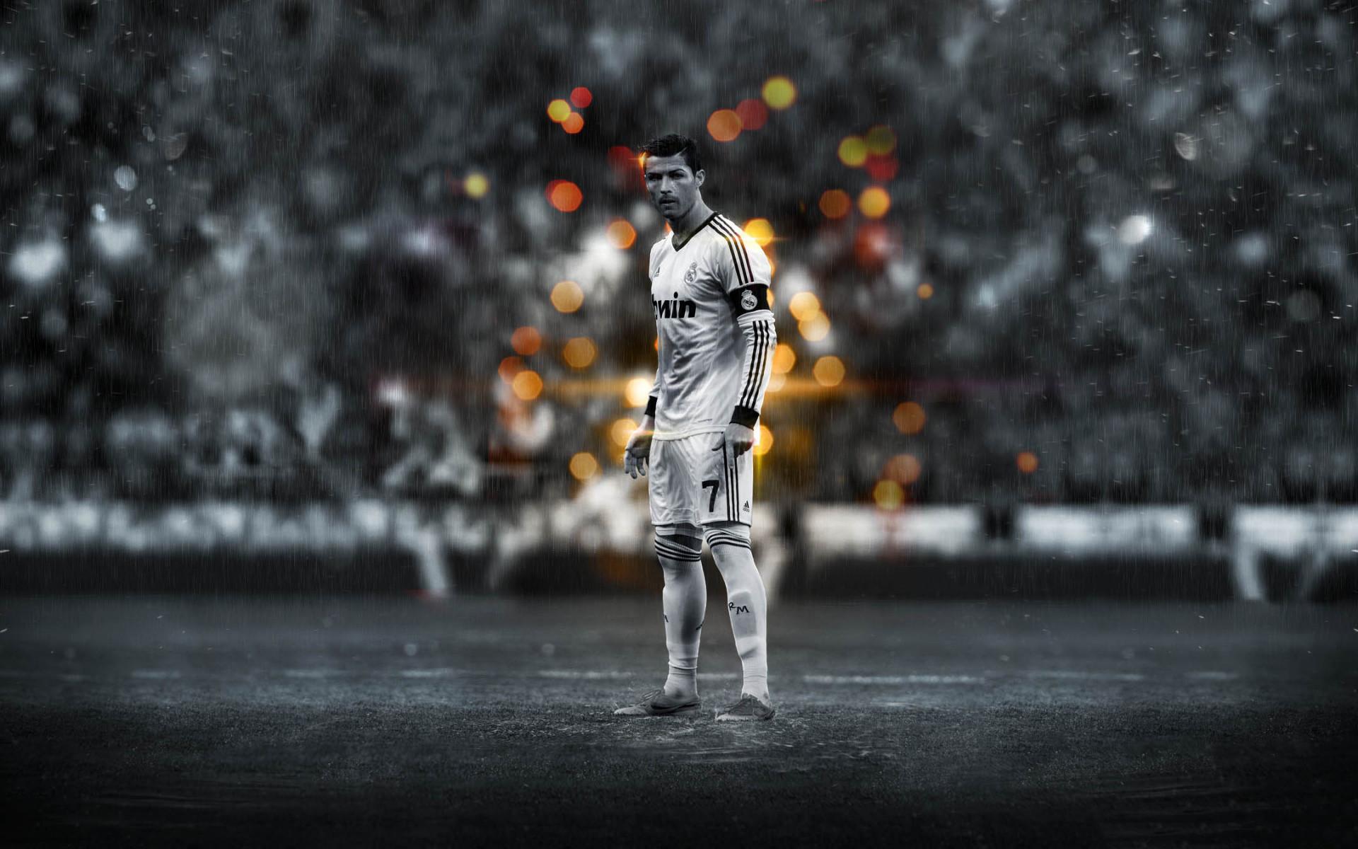 Res: 1920x1200, Christiano Ronaldo Real Madrid Field Shot Desktop Wallpaper Uploaded by  10Mantra