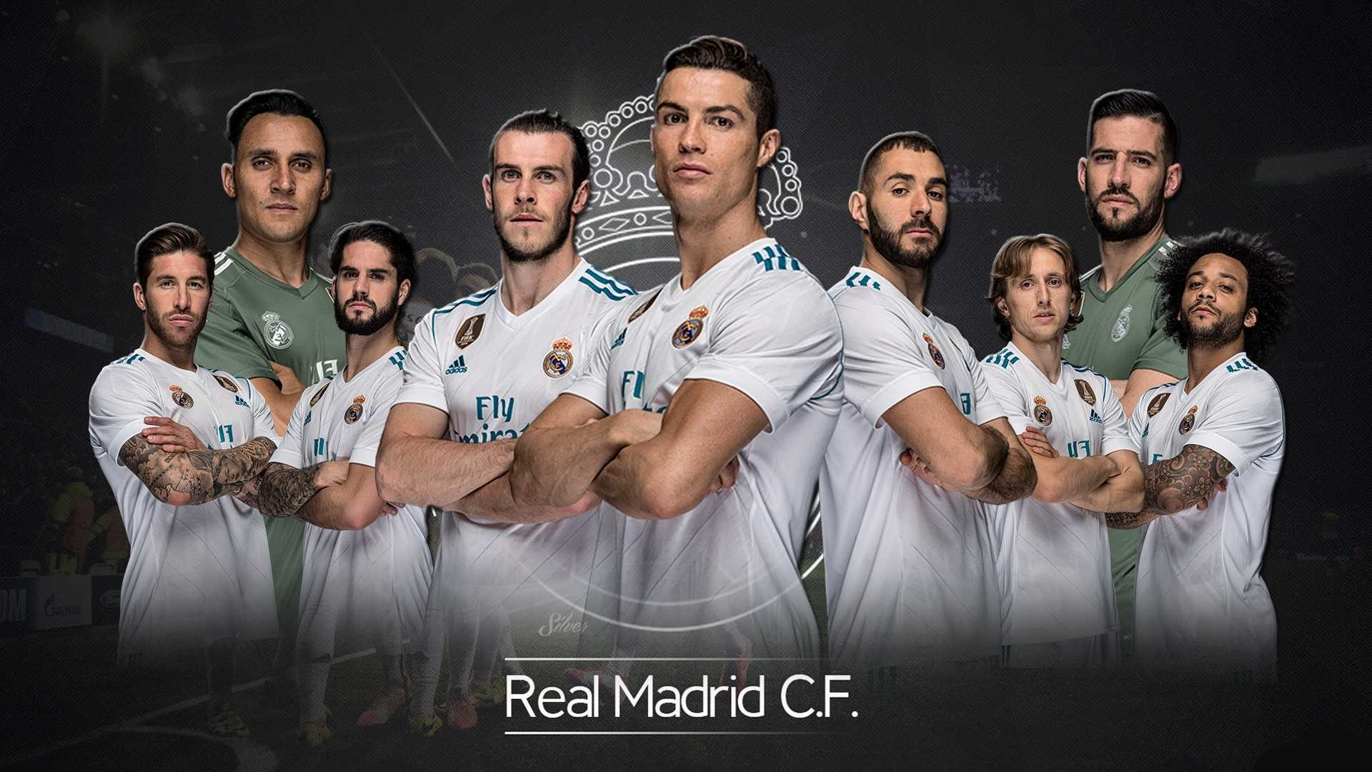 Res: 1920x1080, ... real-madrid-team-2018-wallpaper-photos-high-quality- ...