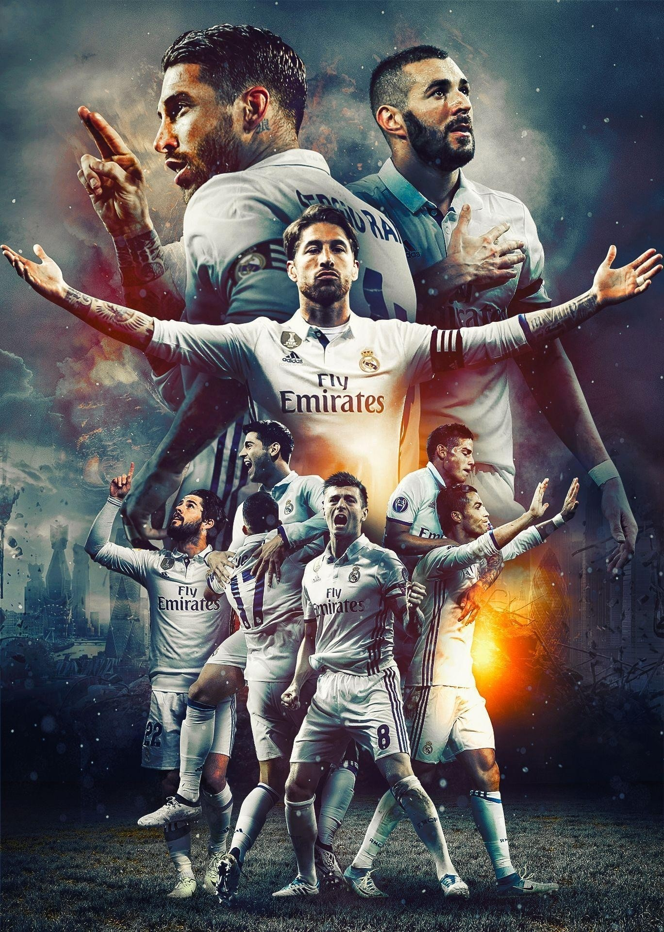 Res: 1368x1920, Title : real madrid 2017 wallpapers – wallpaper cave. Dimension : 1368 x  1920. File Type : JPG/JPEG
