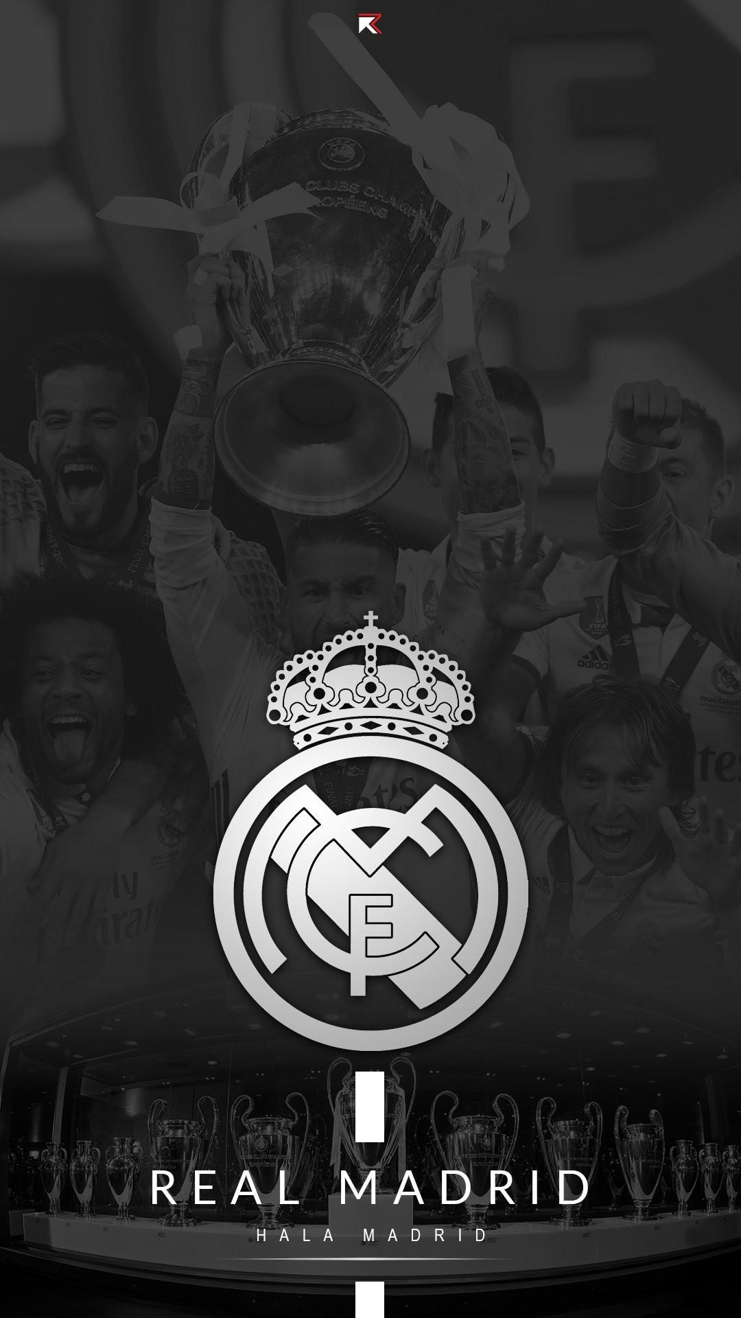 Res: 1080x1920, Hala Madrid
