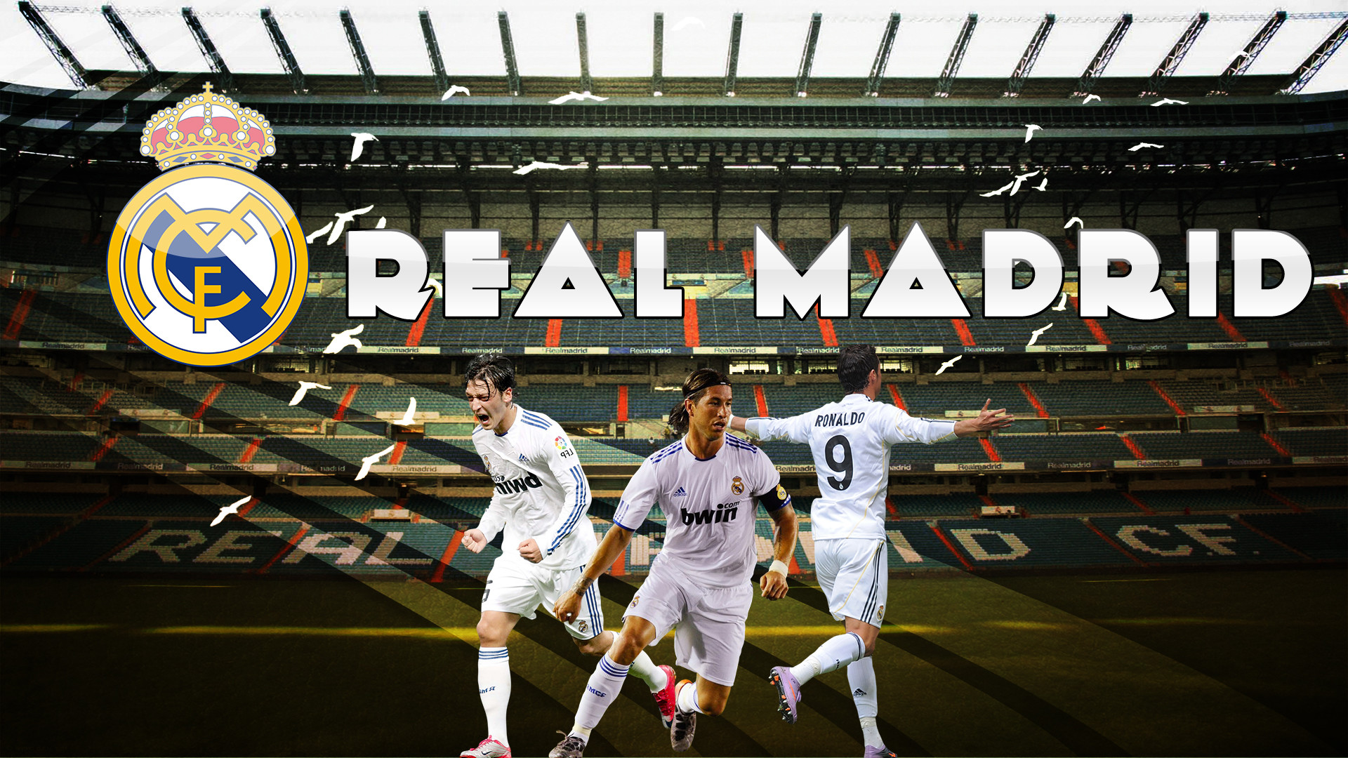 Res: 1920x1080, Real Madrid Wallpaper by MediaCriggz Real Madrid Wallpaper by MediaCriggz