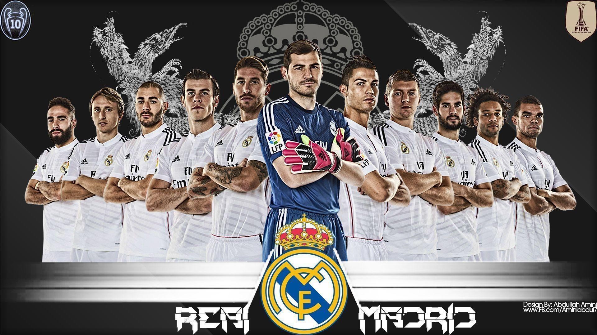 Res: 1920x1080, Real Madrid Wallpaper Full Team Real Madrid Logo Wallpaper 2015 5 .