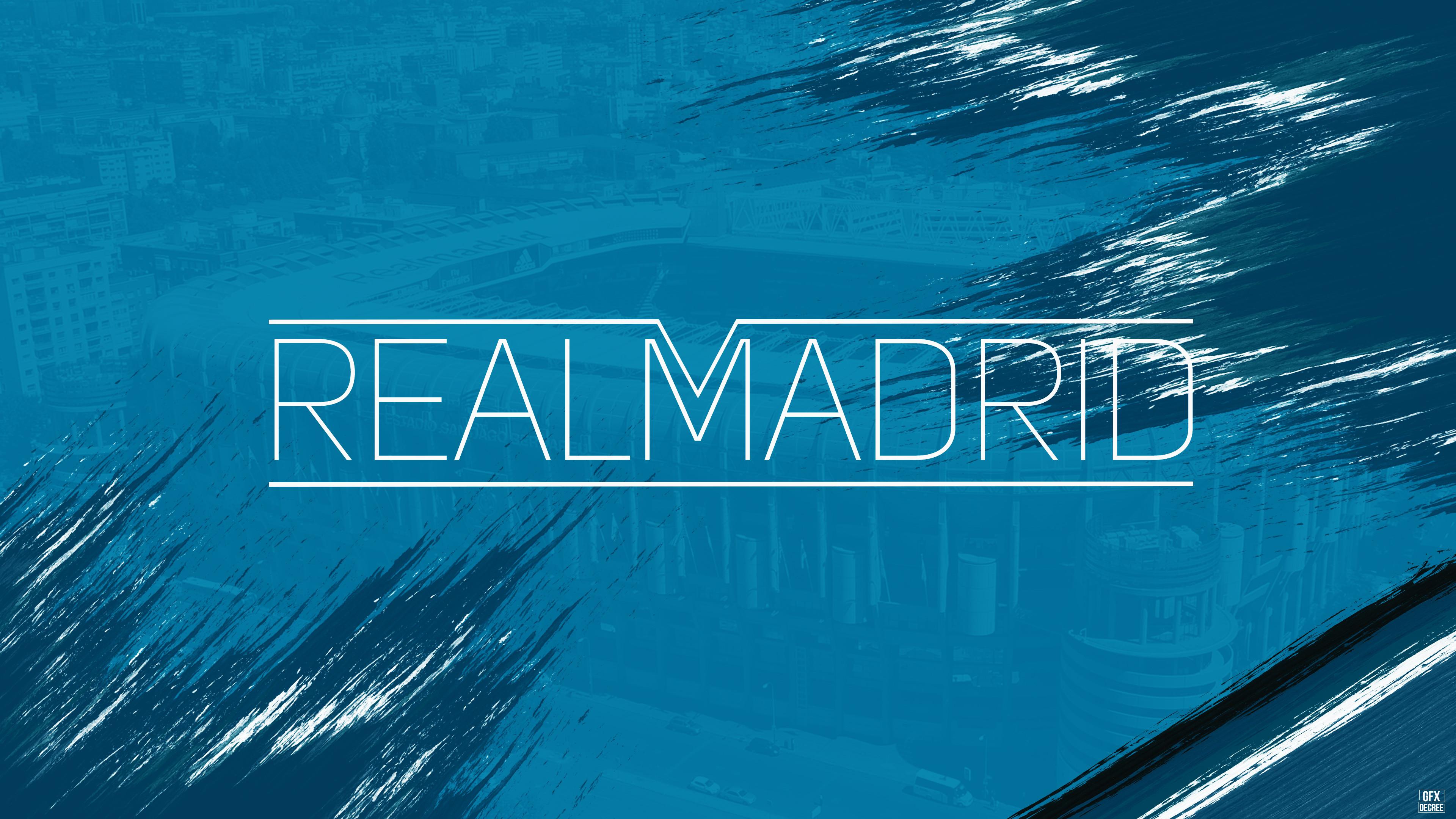 Res: 3840x2160, Real Madrid CF, Football club, 4K
