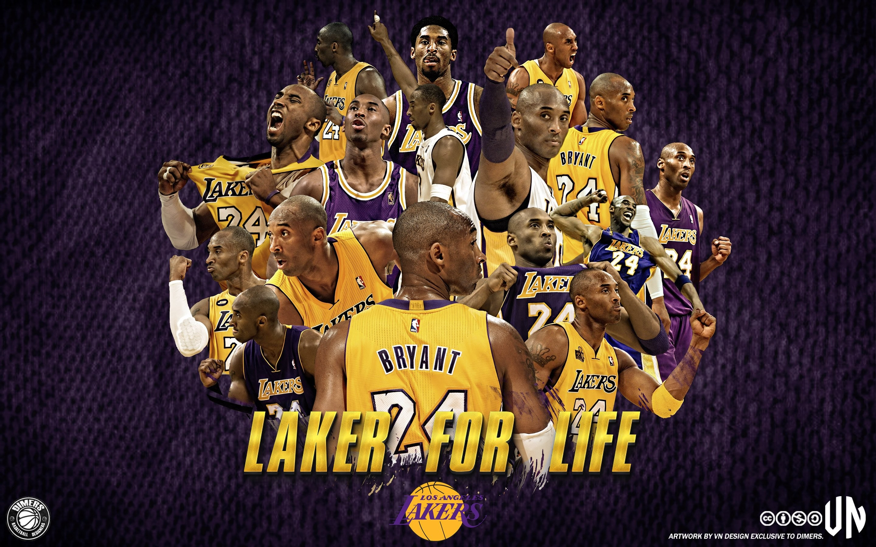 Res: 2880x1800, New Lakers Wallpaper 5