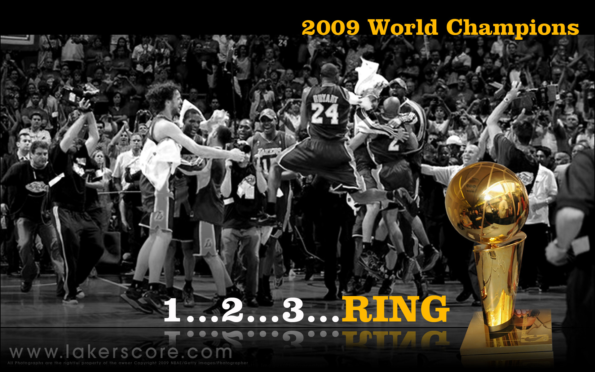 Res: 1920x1200, Lakers Championship Wallpaper