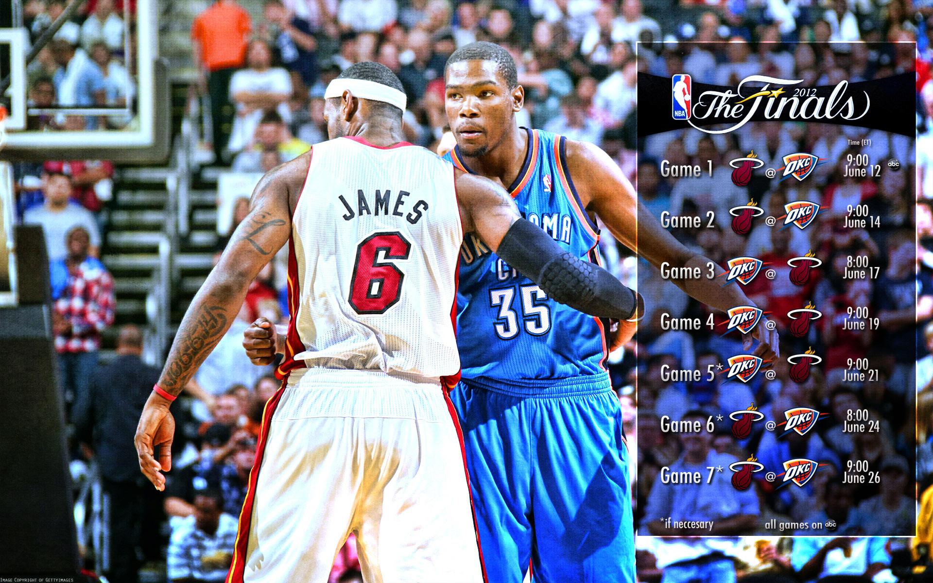 Res: 1920x1200, 2012 NBA Finals Schedule 1920×1200 Wallpaper