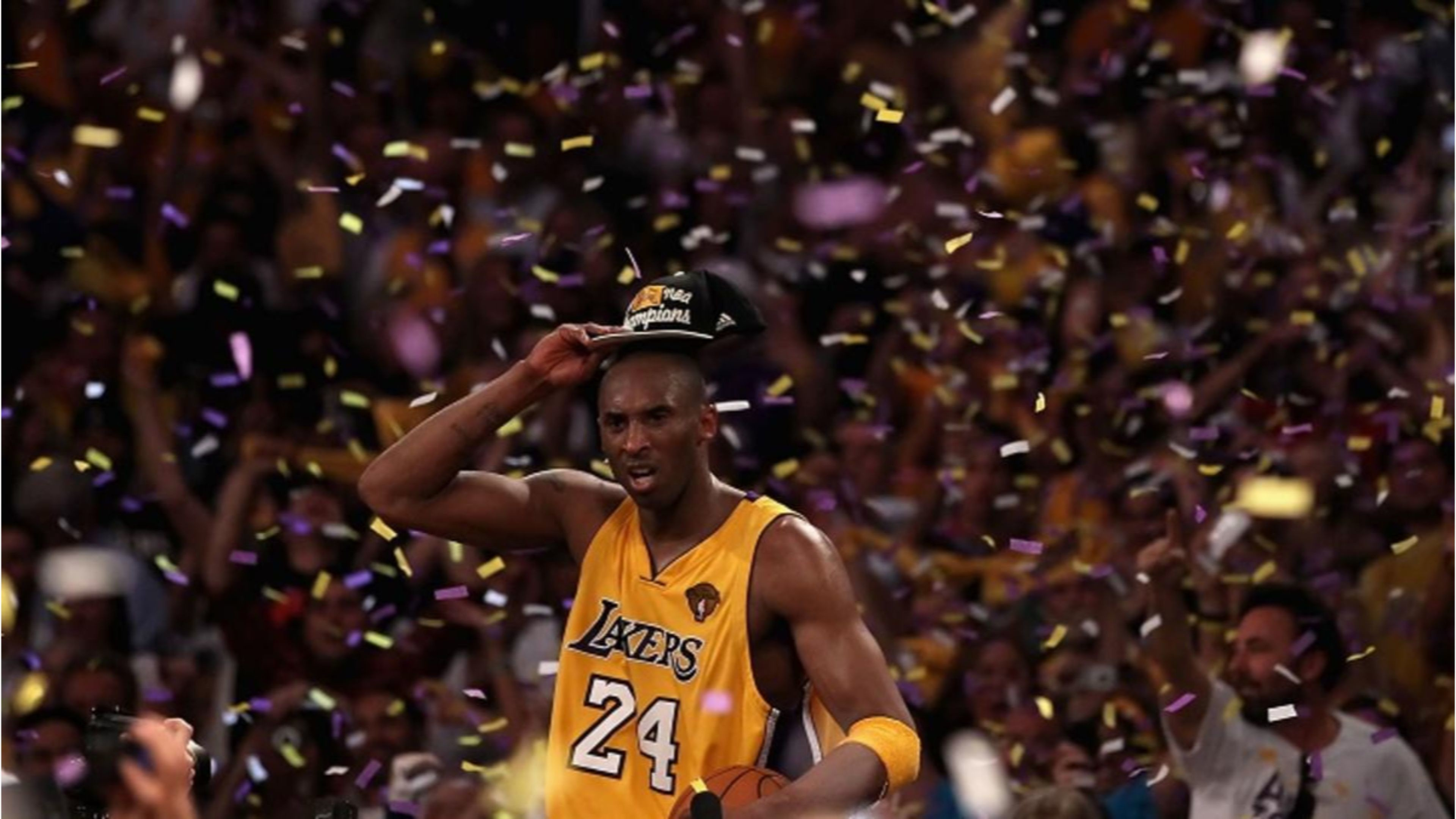 Res: 3840x2160, NBA Finals Champs La Lakers Kobe Bryant 4K Wallpaper
