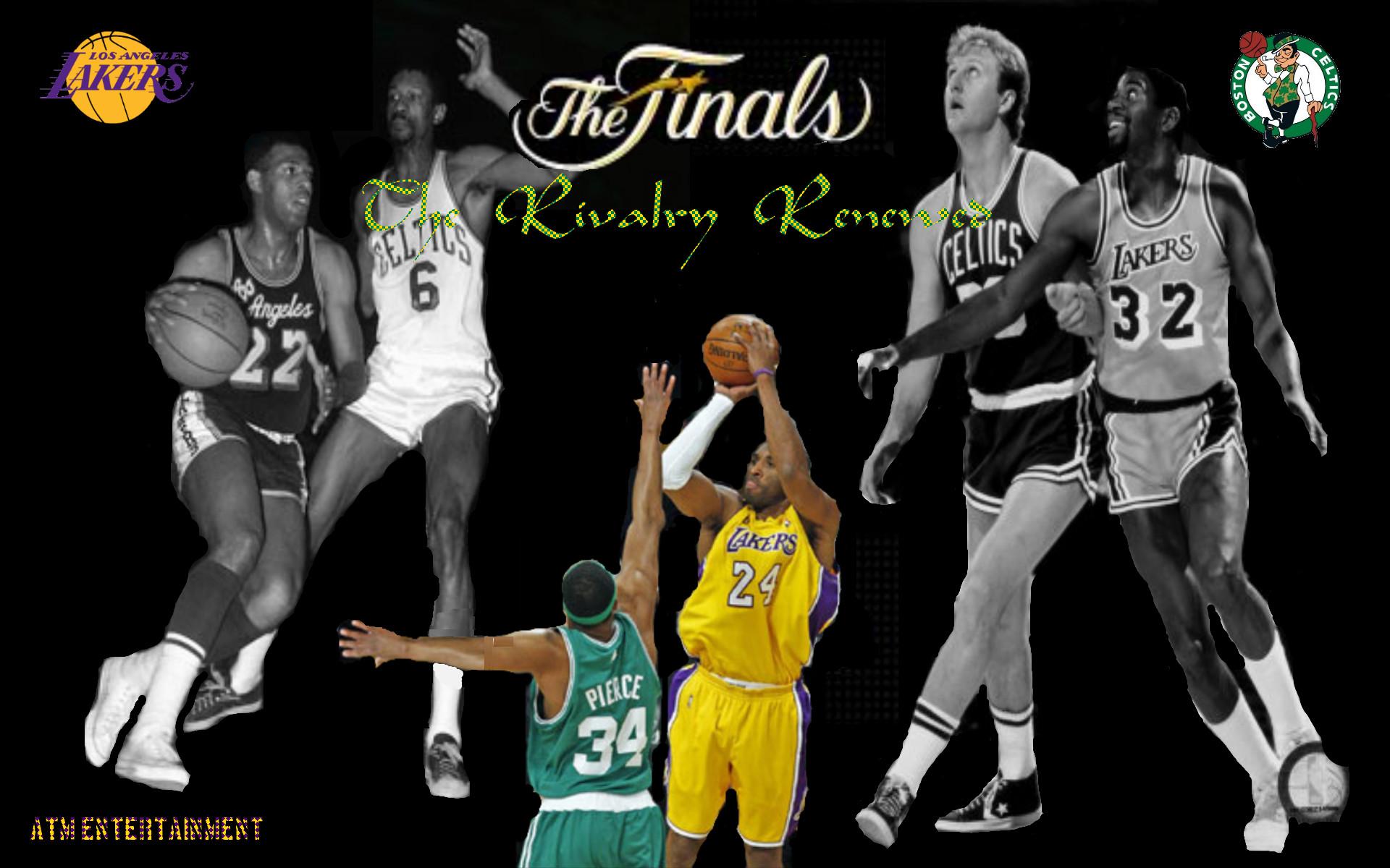 Res: 1920x1200, NBA – Special – Greatest NBA Rivalries – Boston Celtics VS Los Angeles  Lakers – ImaSportsphile